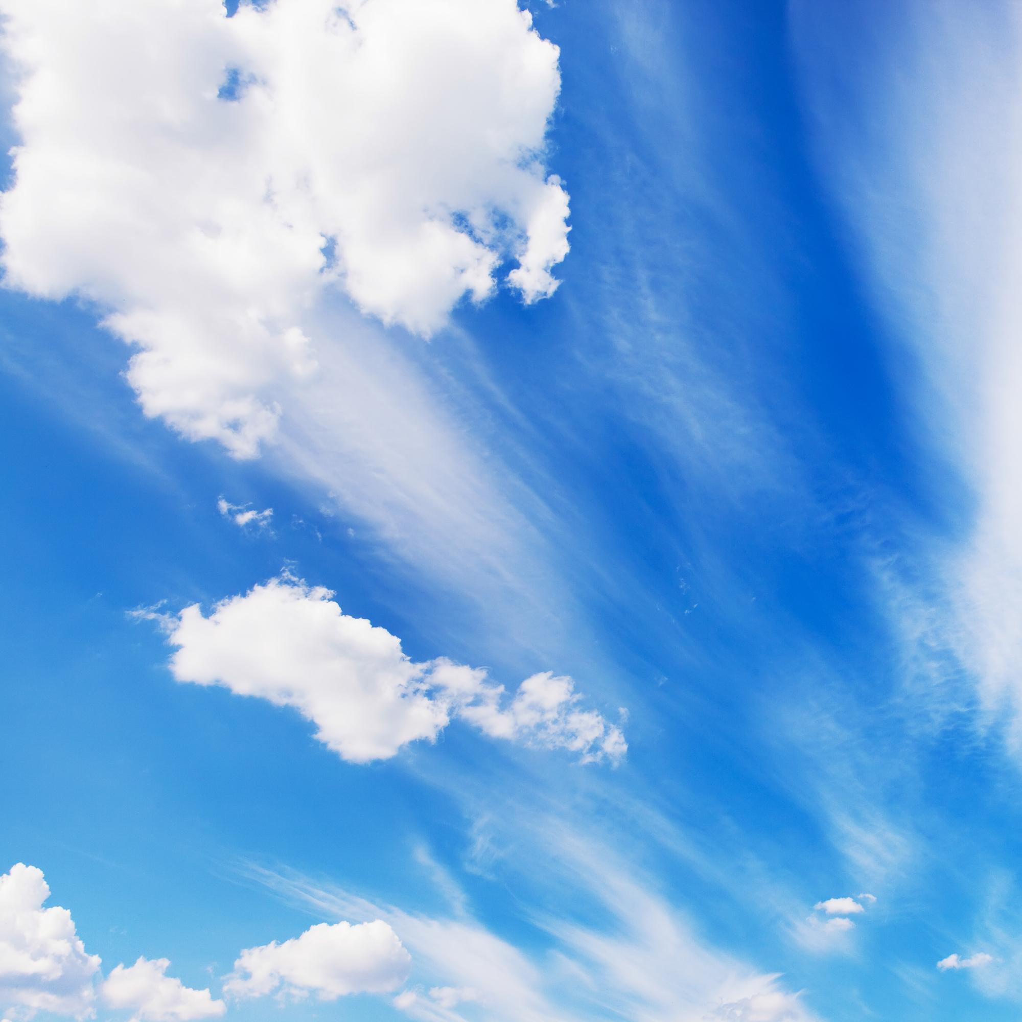 Blue Sky, Skies, Sky, Heaven, Cloudy, HQ Photo