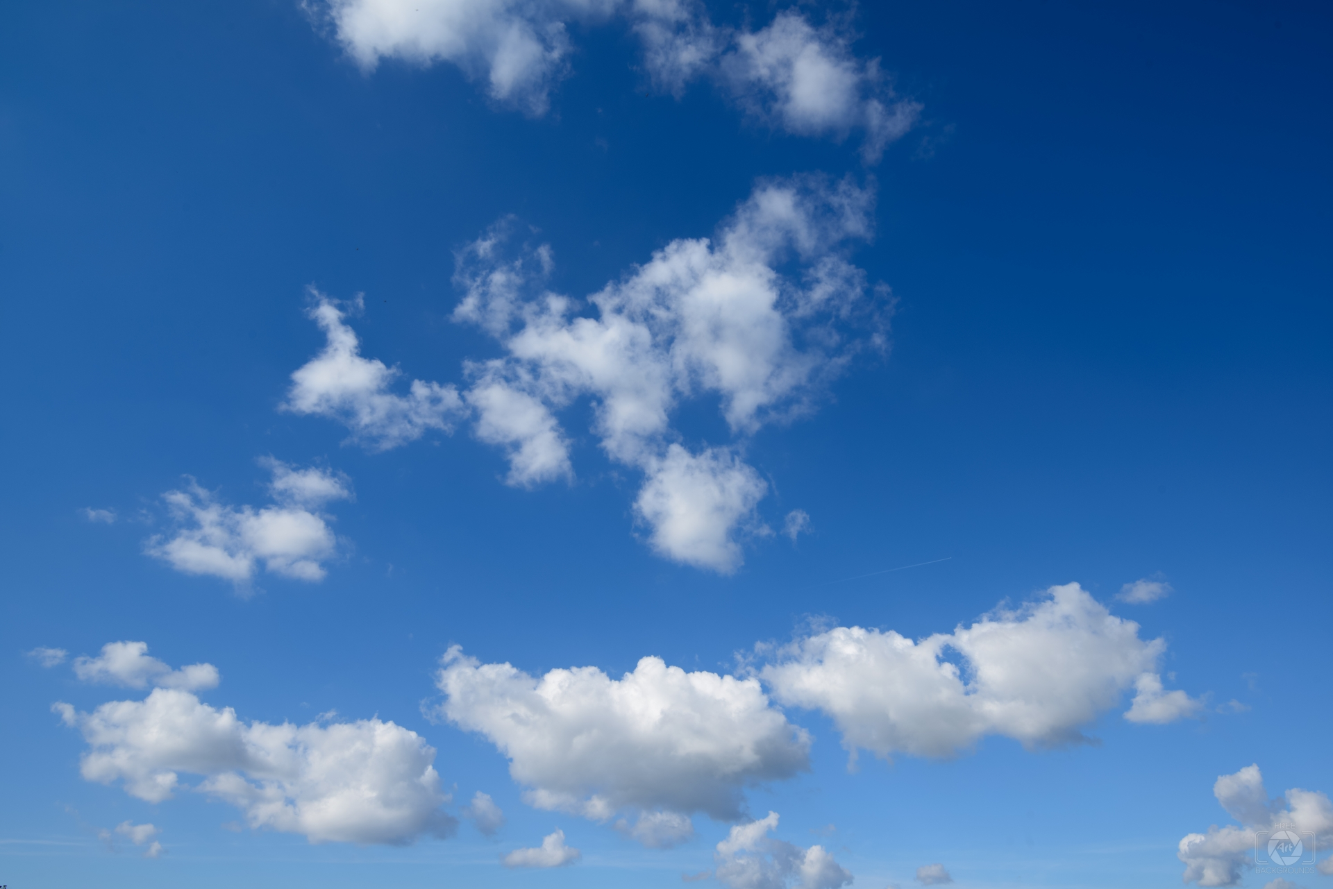 Beautiful Blue Sky with Clouds Background - High-quality Free ...