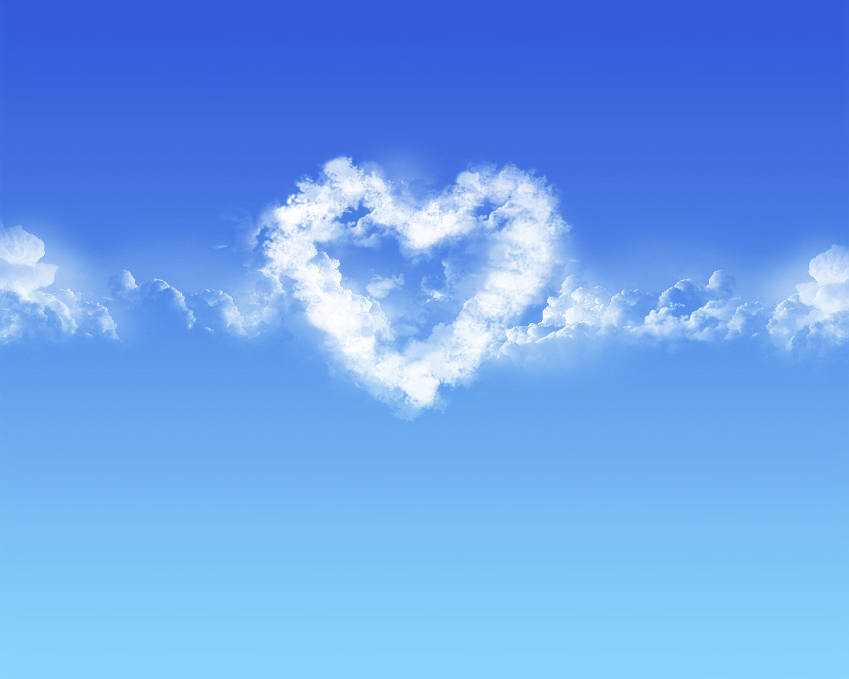 cloud heart blue sky - It's Never Too Late for Love