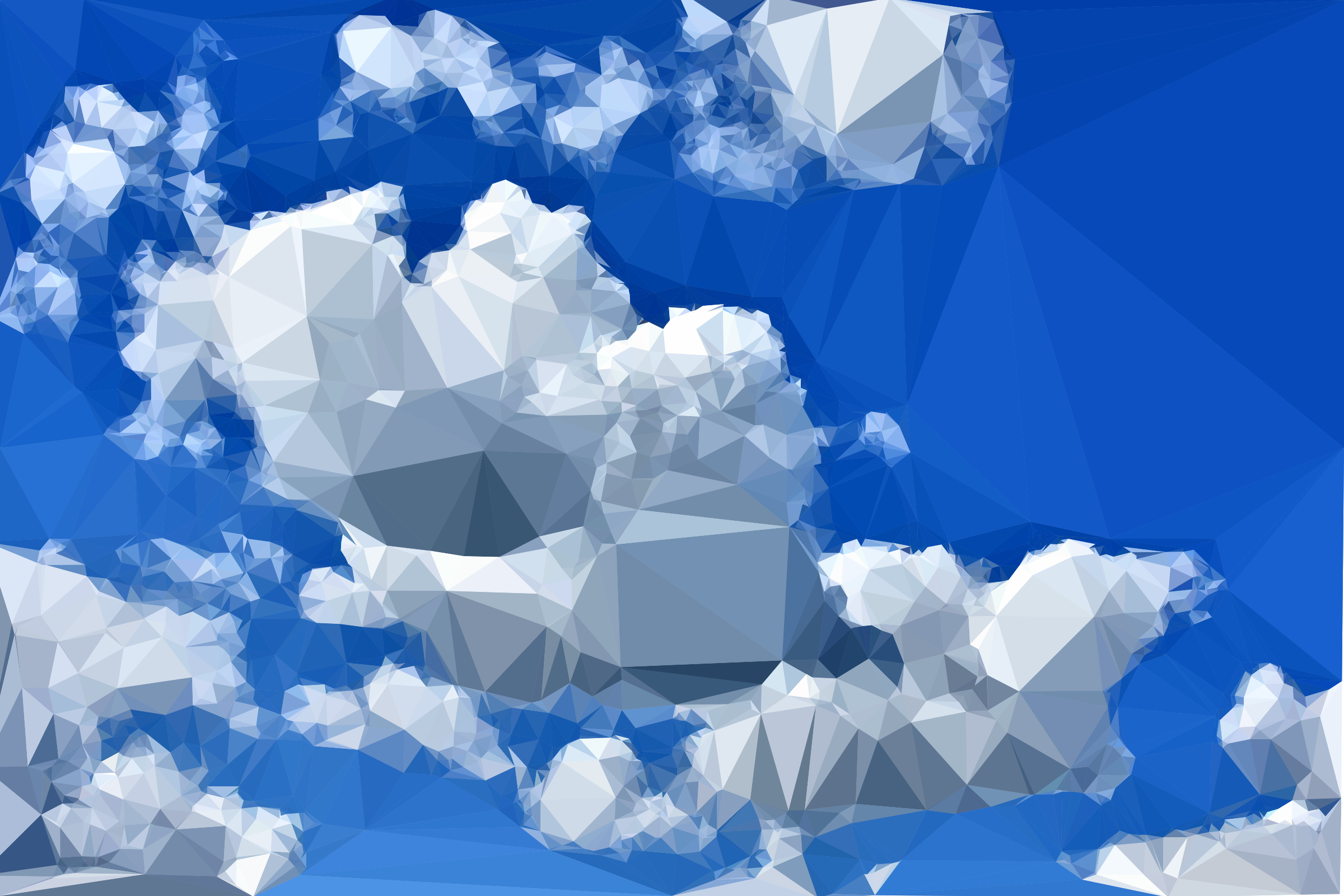 Low Poly Blue Sky Icons PNG - Free PNG and Icons Downloads
