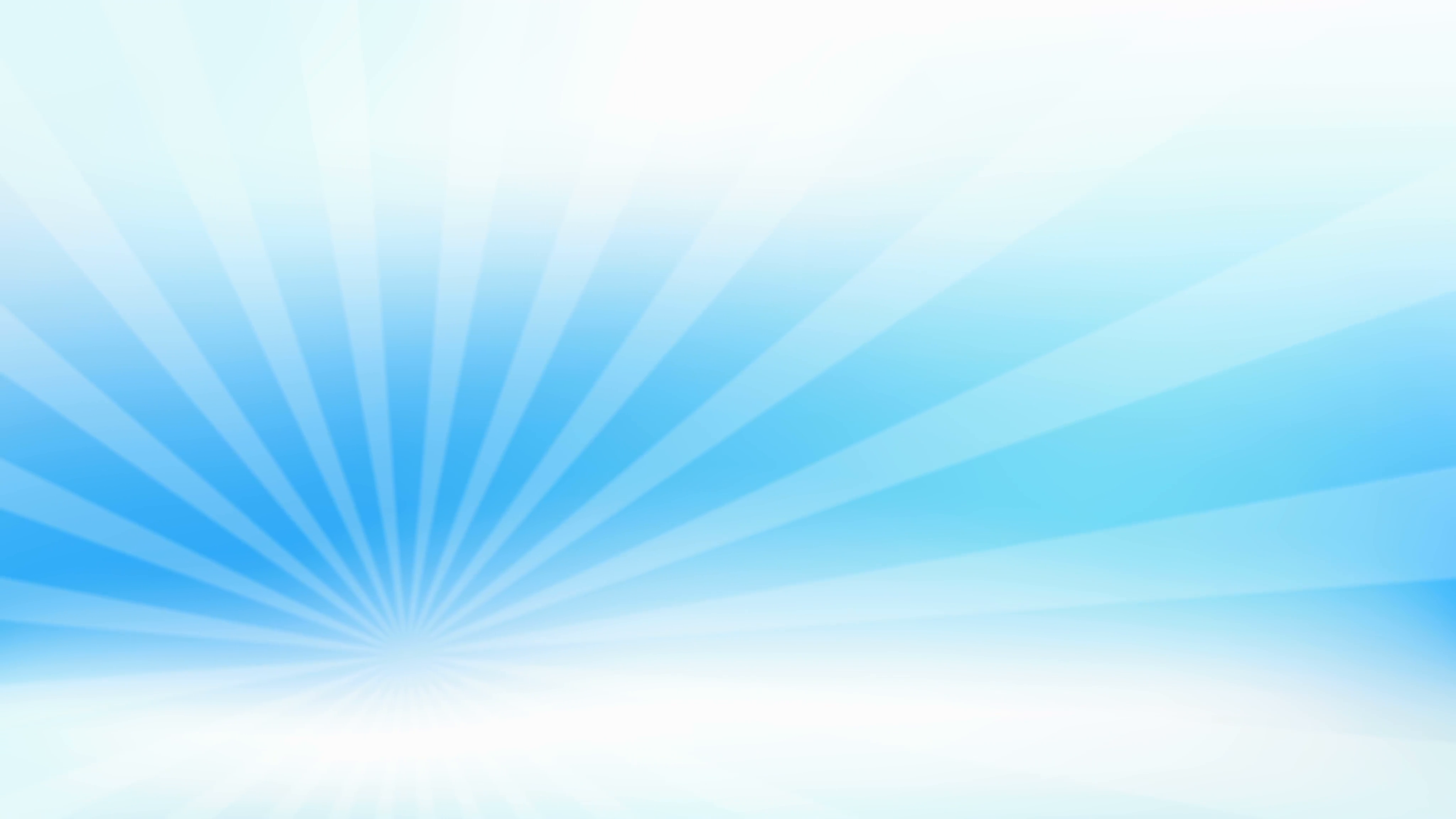 Abstract sunburst on gradient blue sky background loop animation ...
