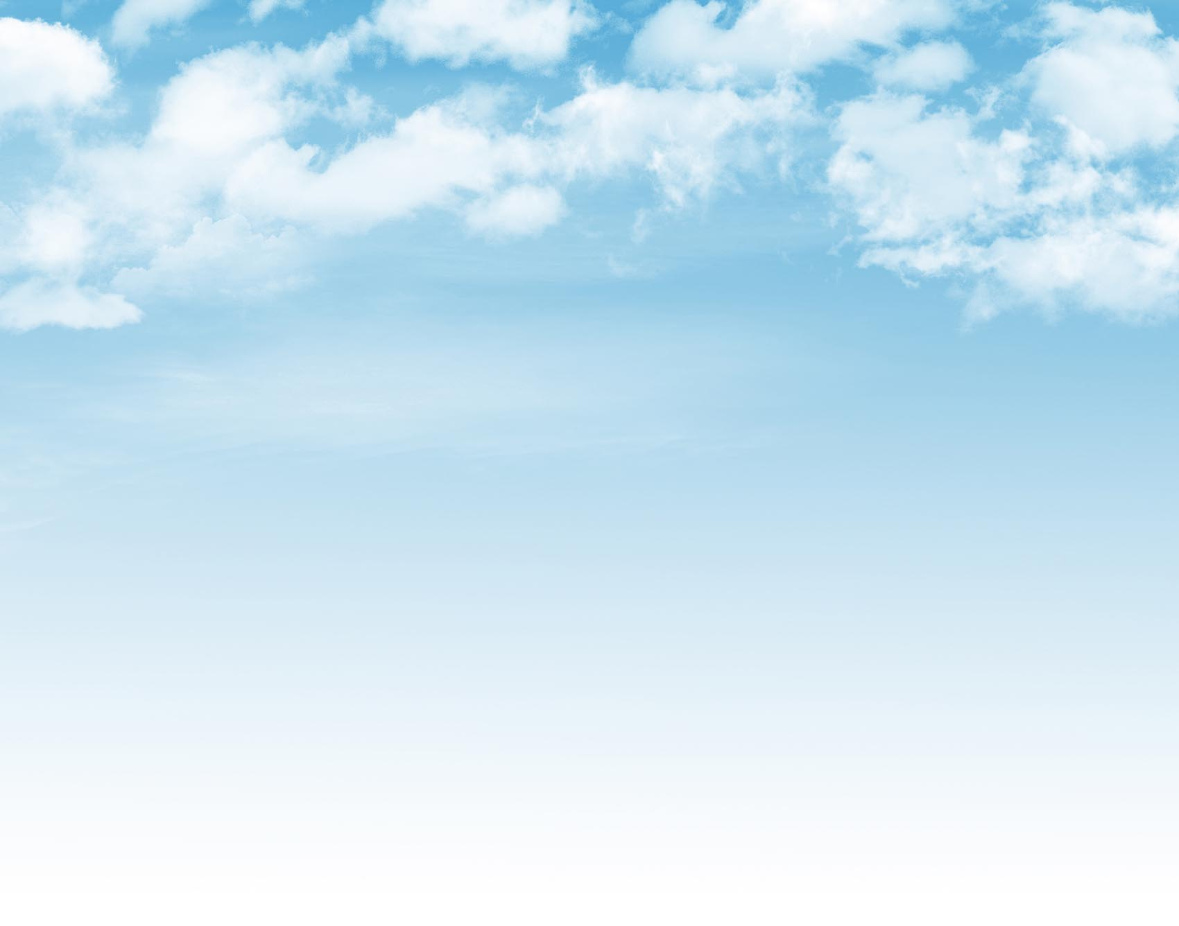 Blue sky with clouds background | Sander Mechanical Service