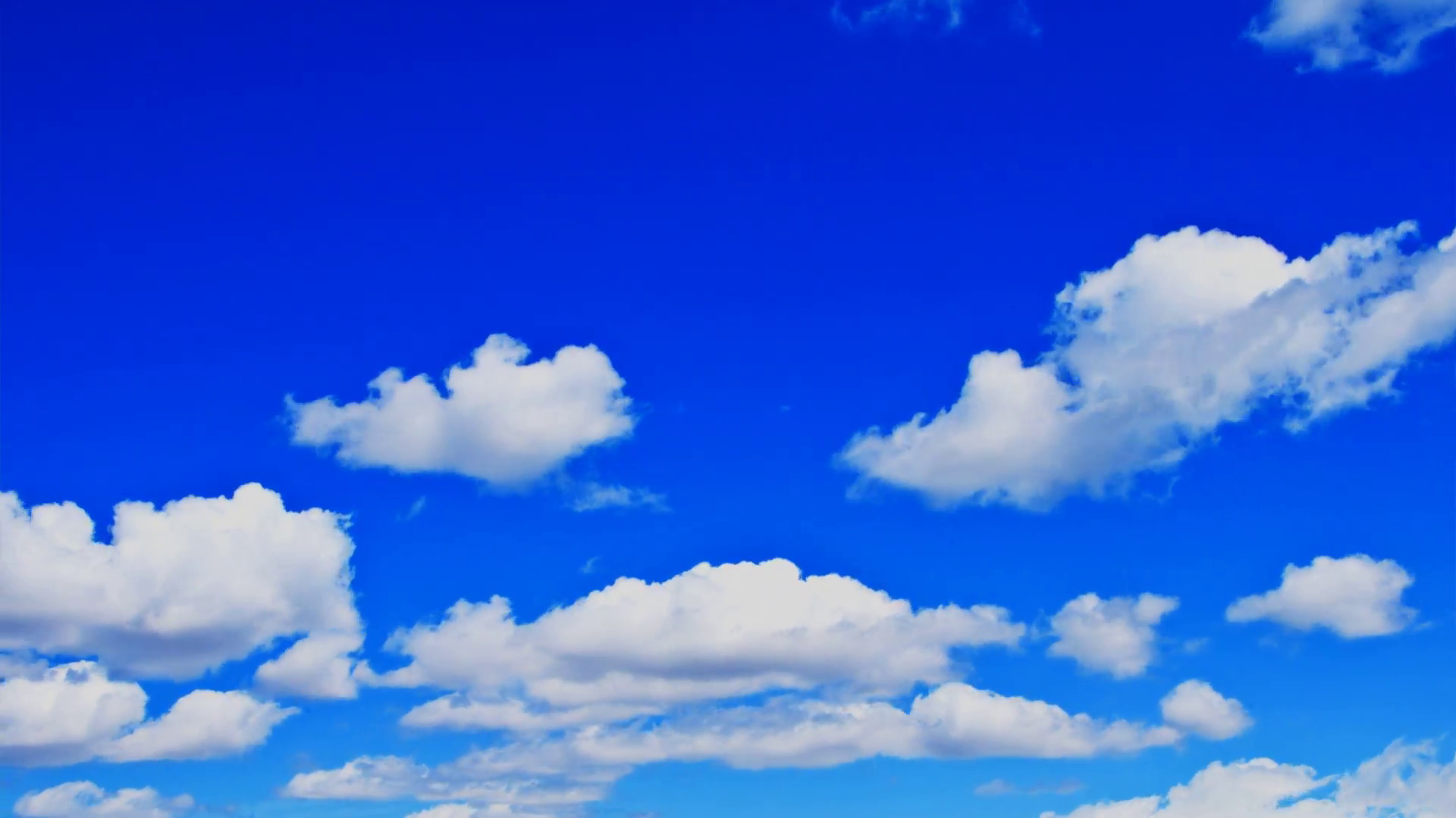 Free Photo: Blue Sky With Clouds