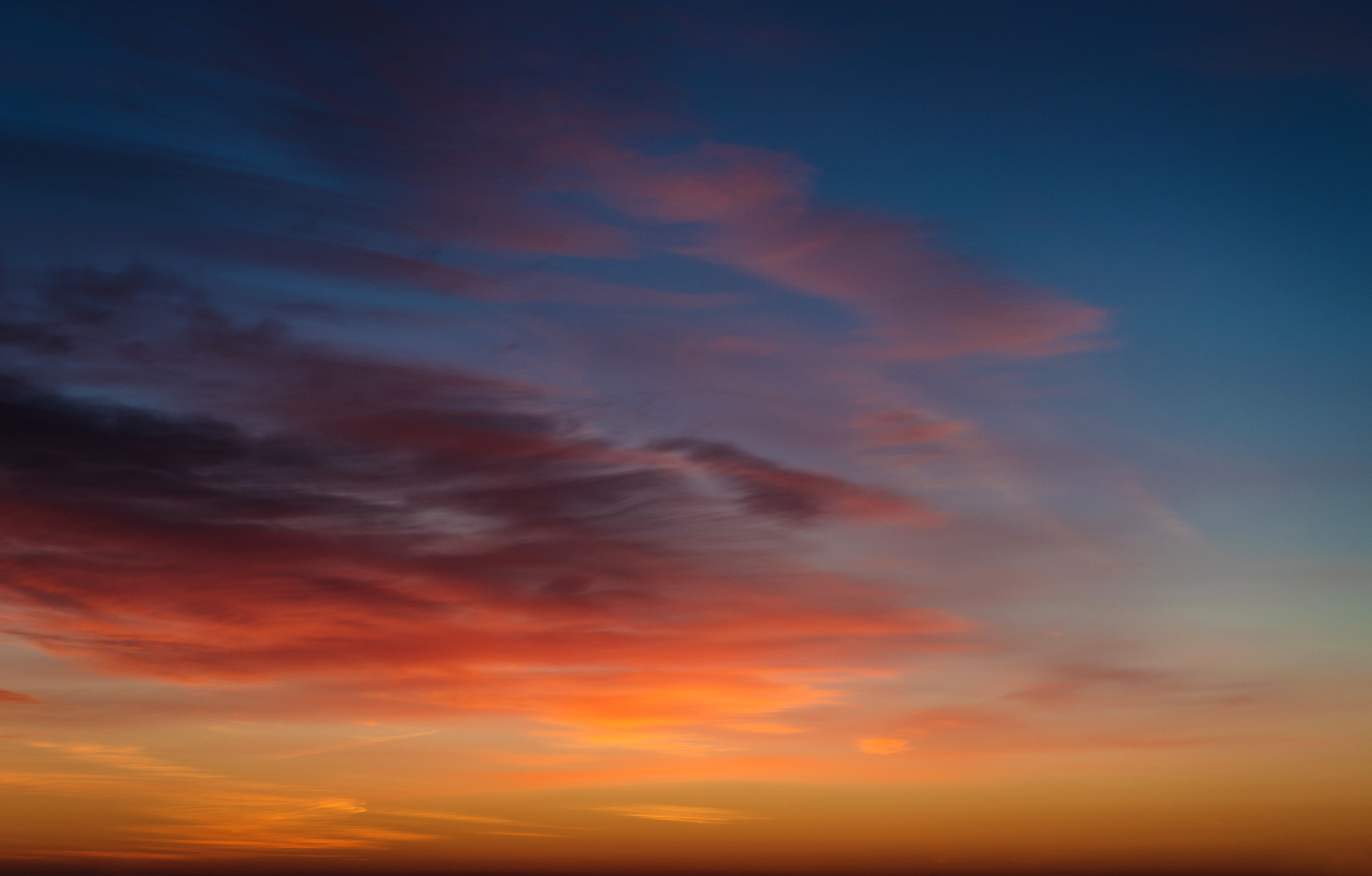 Blue sky with clouds and sun, Shine, Sky, Scenery, Softness, HQ Photo