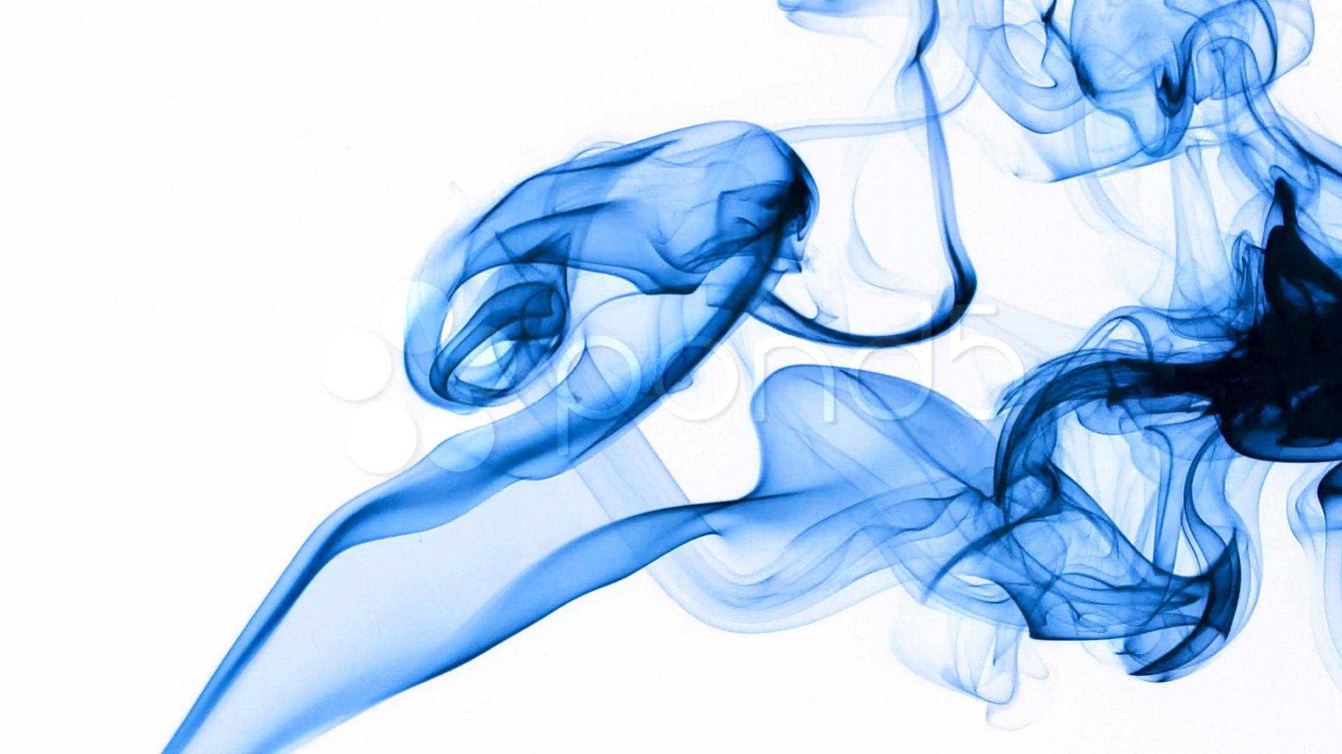 Blue smoke ~ SD, HD, & 4K Stock Footage #315533   Pond5