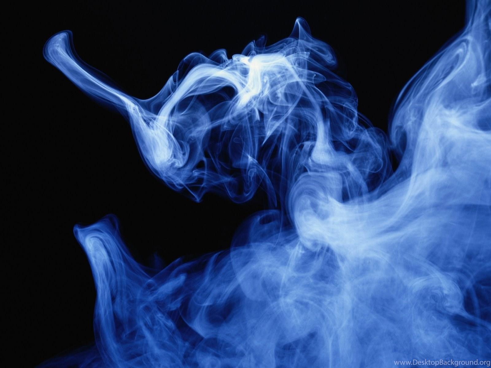 Blue Smoke Wallpapers Desktop Background