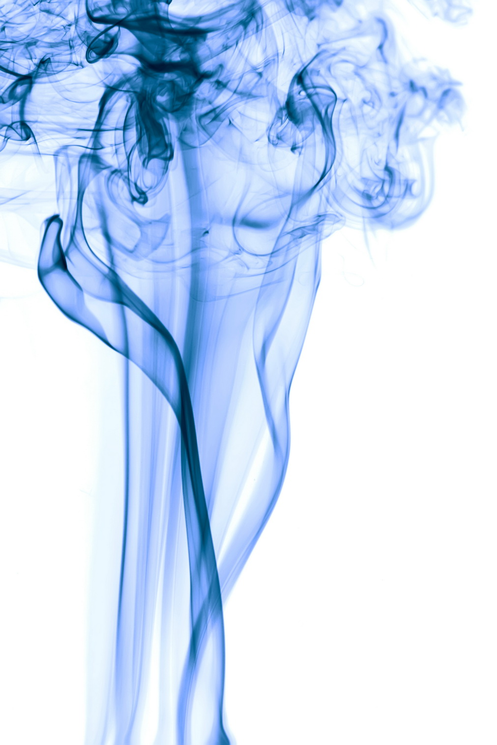 blue smoke, Abstract, Smell, Lines, Magic, HQ Photo