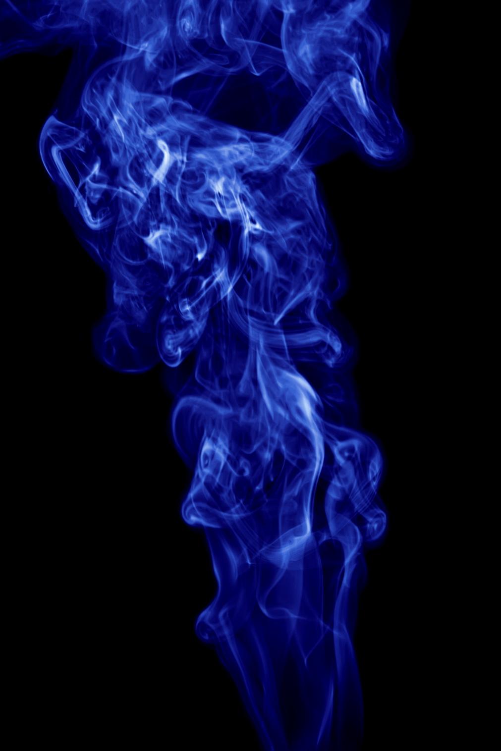 blue smoke, Flare, Flow, Smell, Smoke, HQ Photo