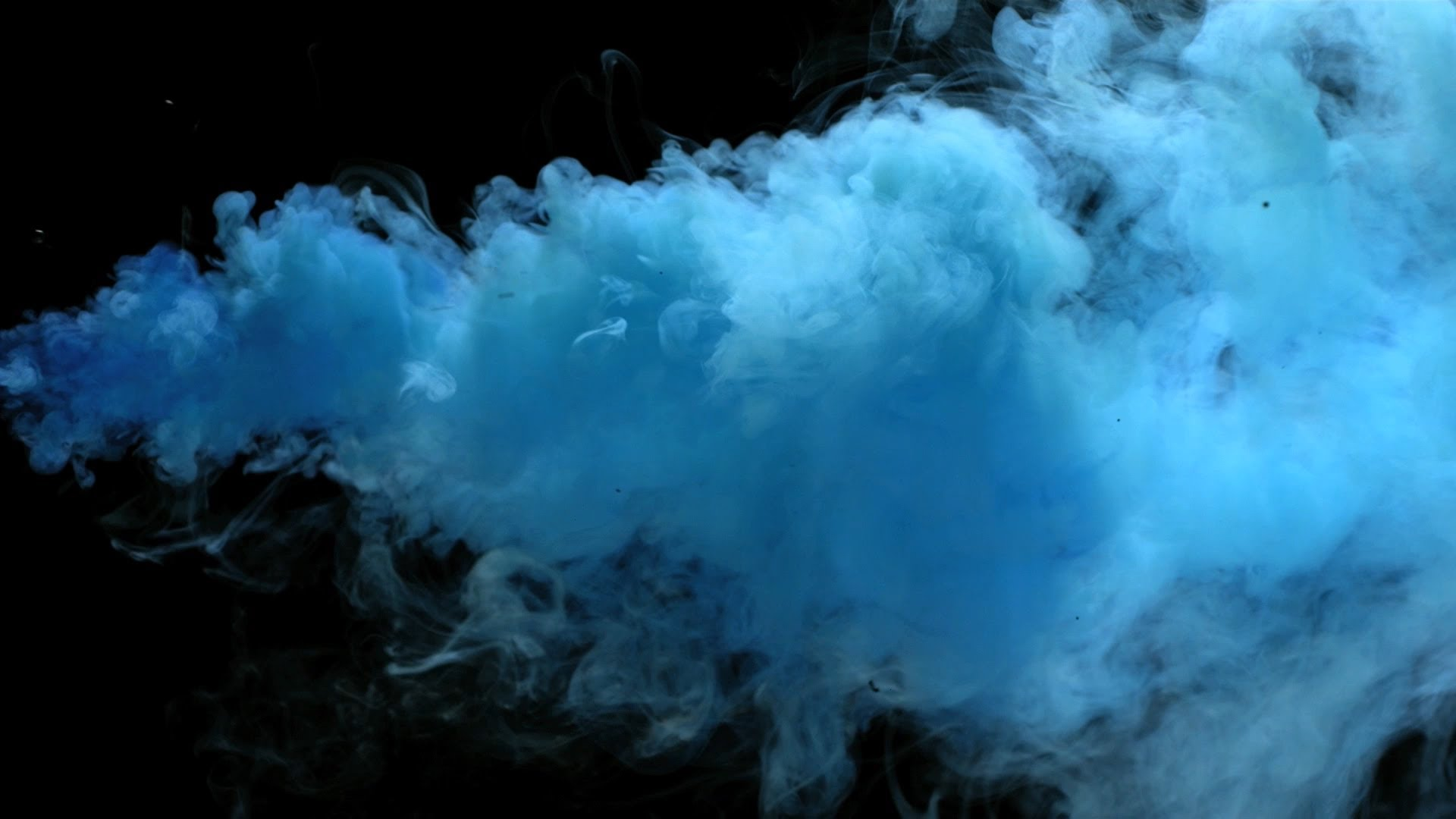 Free Slow Motion Footage: Angry Blue Smoke - YouTube