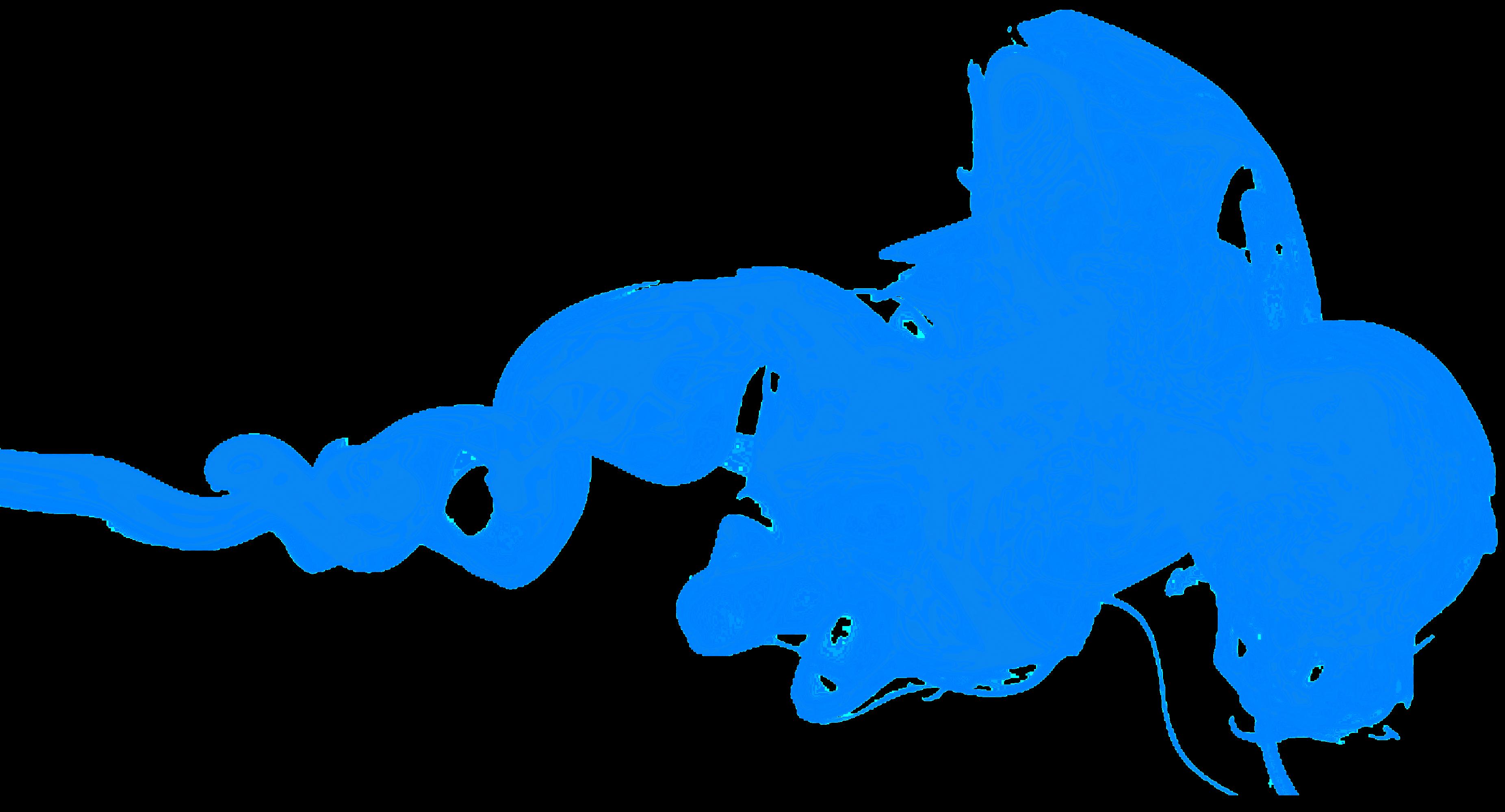 Blue Smoke Transparent | PNG Arts