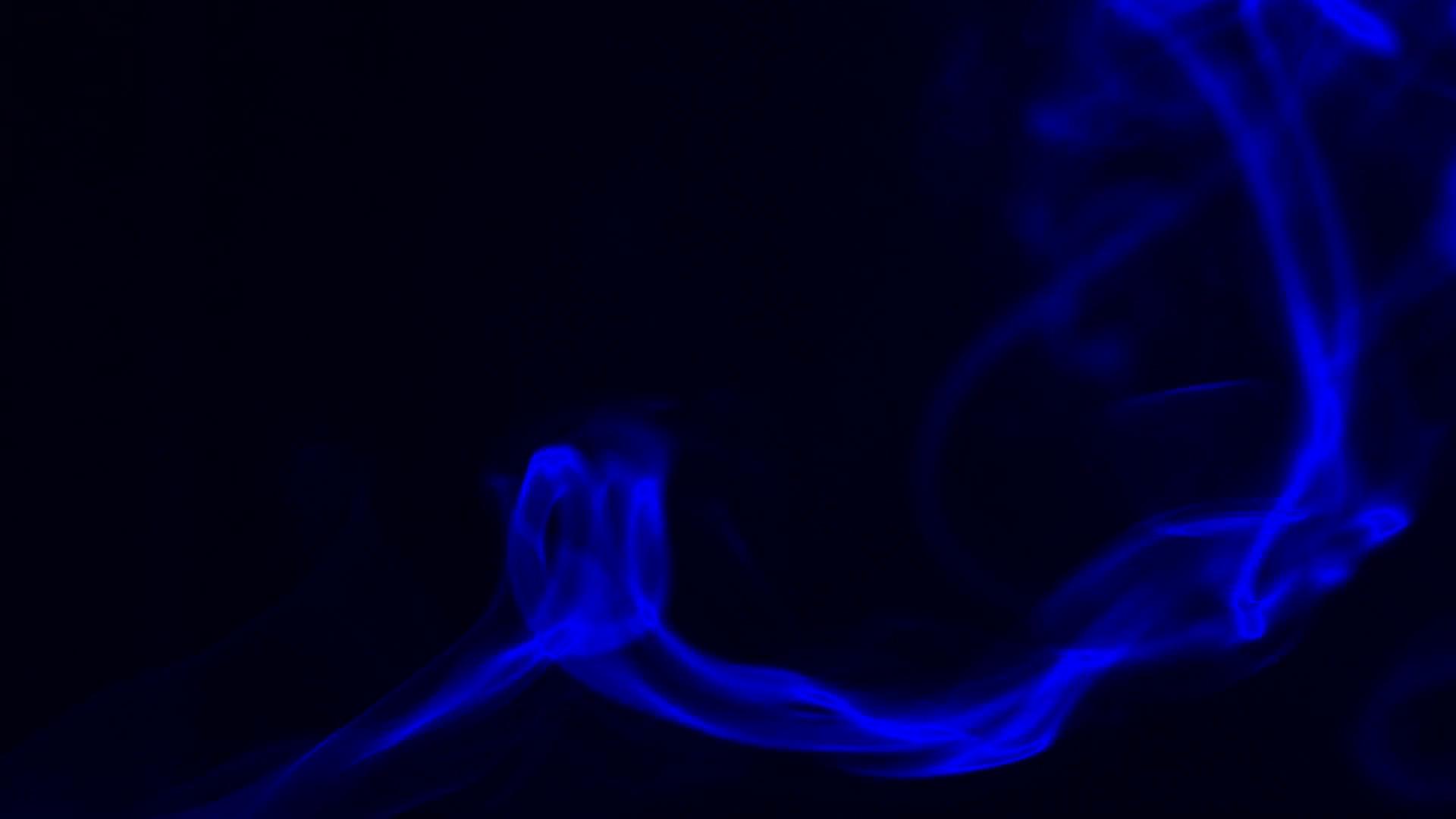 Texture blue smoke on black background Stock Video Footage - Videoblocks
