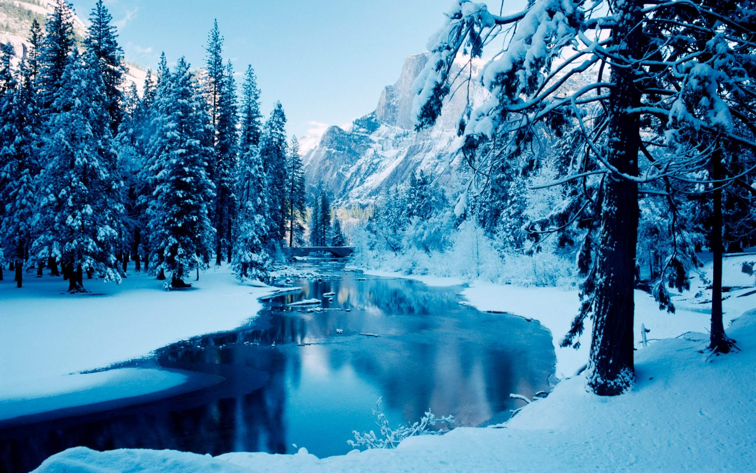 Blue Snow Winter #6997009