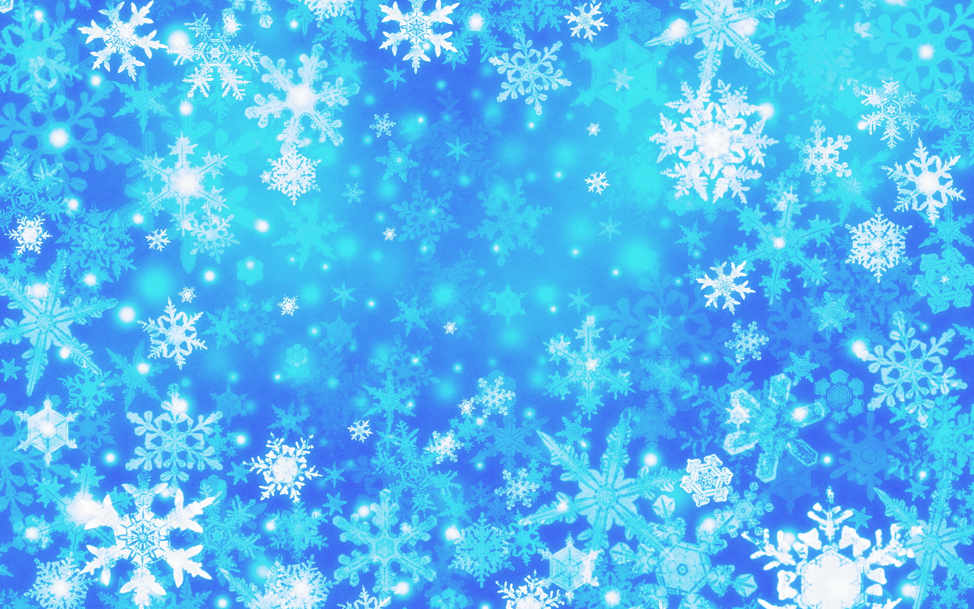 Blue Snow Background - Deerfield Public Library