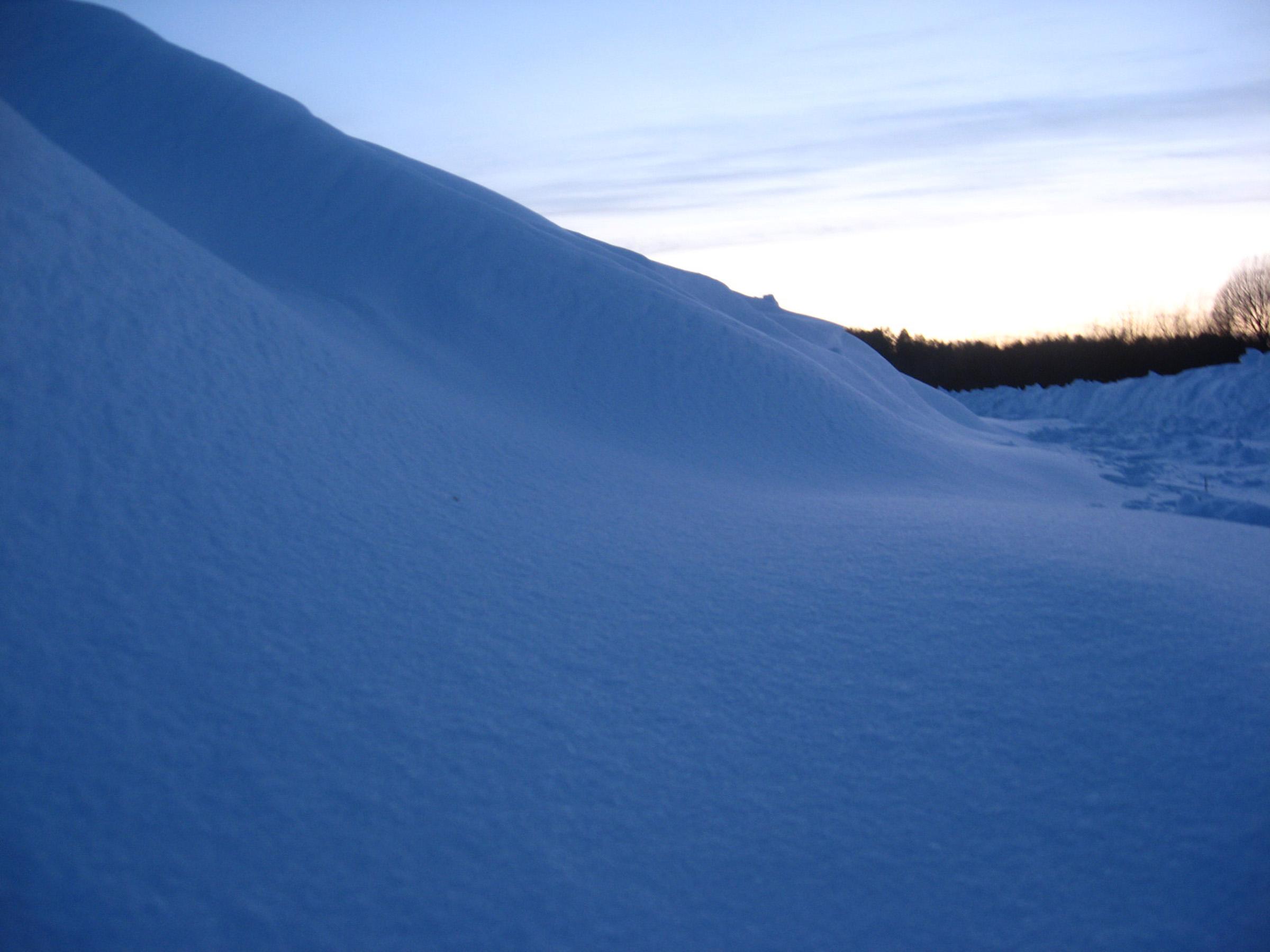 Blue snow, Blue, Cold, Hill, Seasonal, HQ Photo