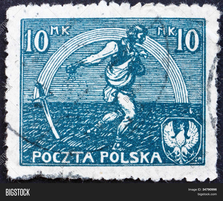 Blue sower stamp photo