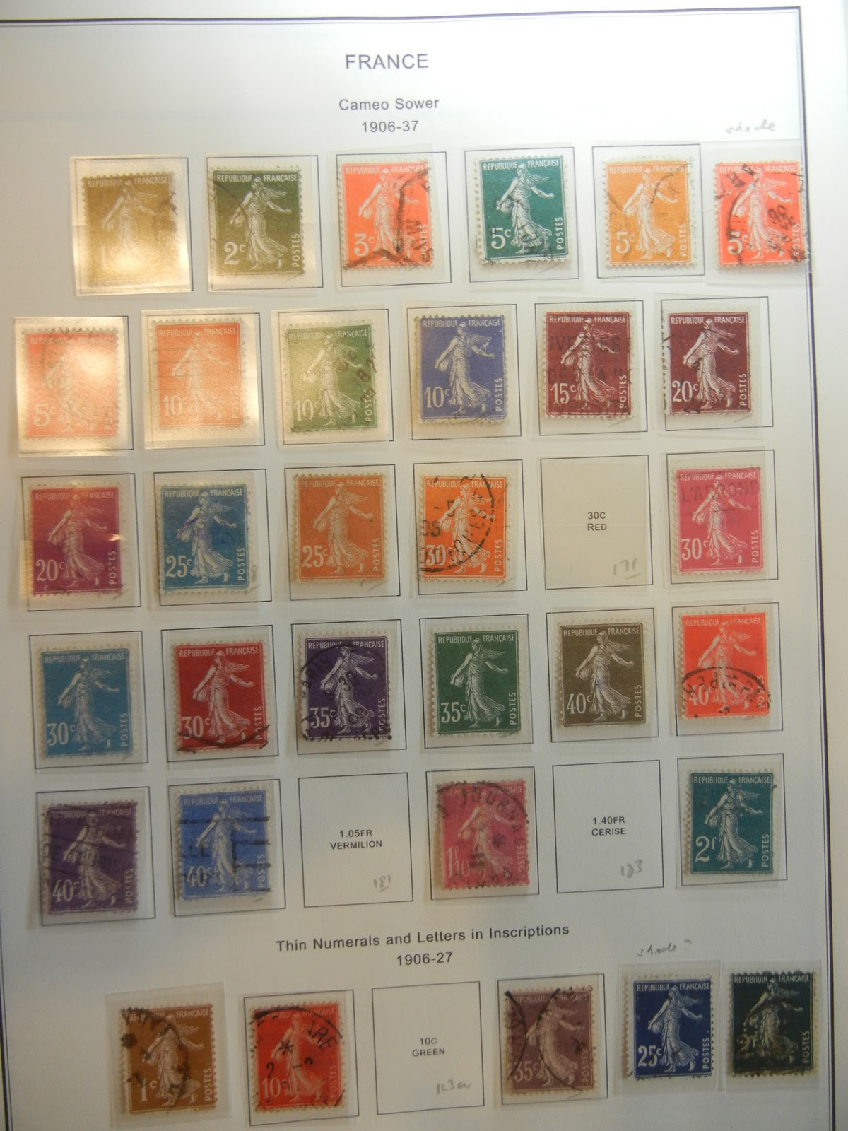 Red sower stamp photo