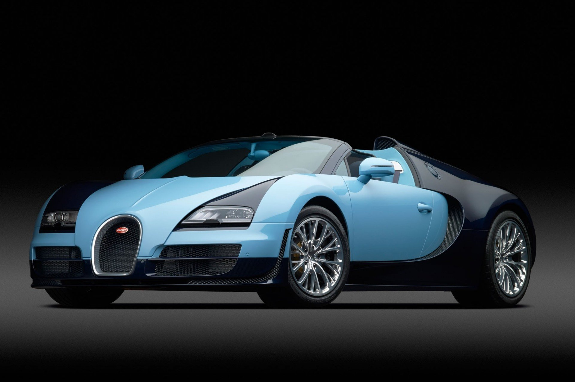 blue black sports car checkout HD wallpaper