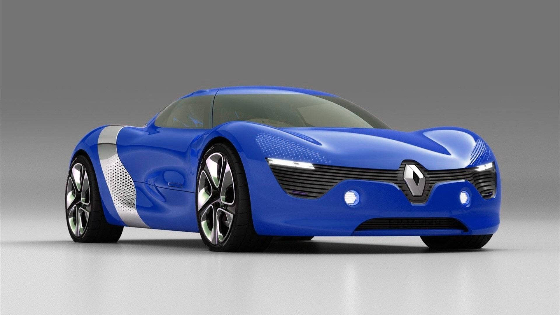Car Renault Royal Blue Sports Car Wallpaper 1920x1080 - Cool PC ...