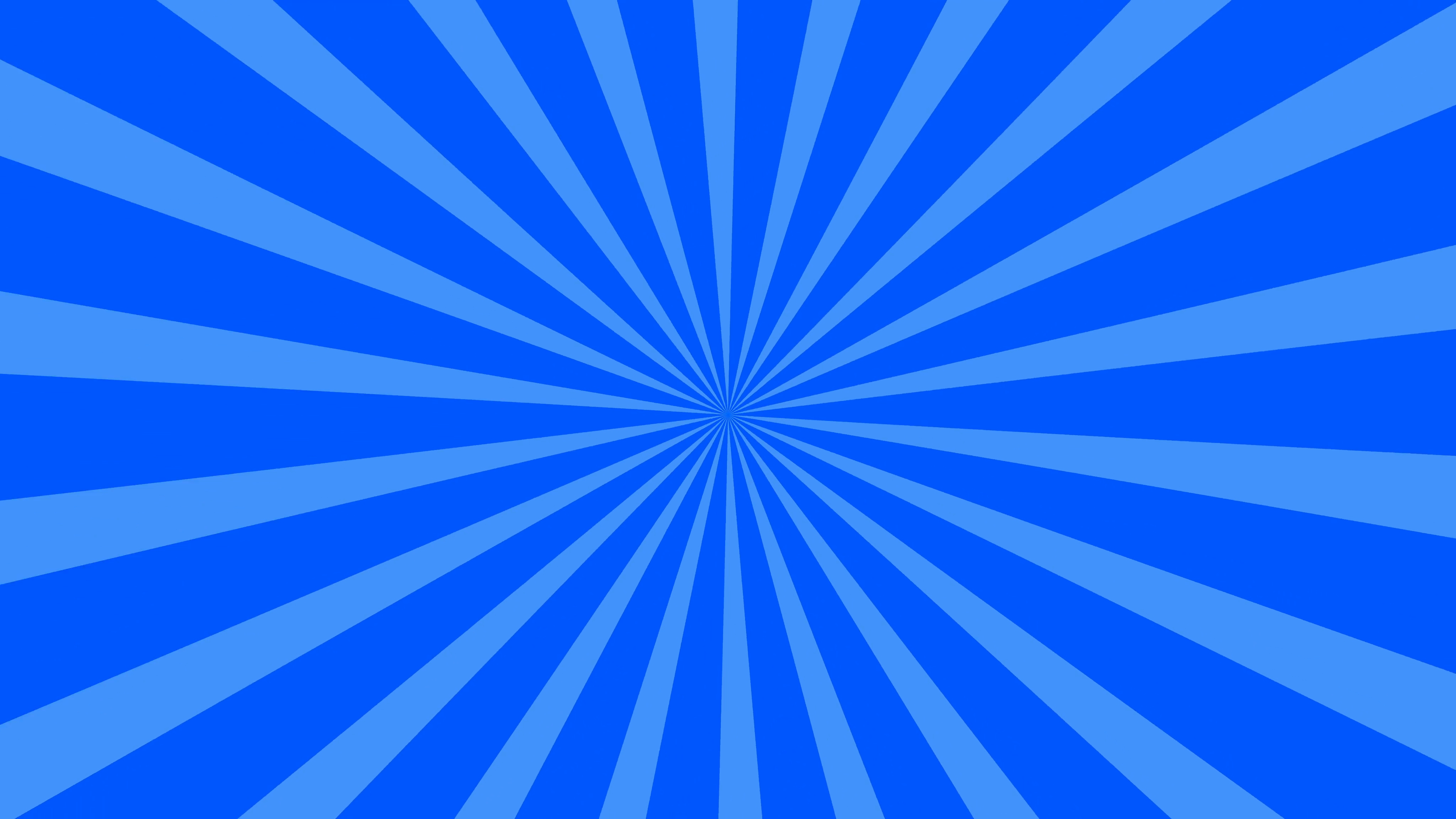 Traditional and classic Sunburst or Starburst background Blue 4K and ...