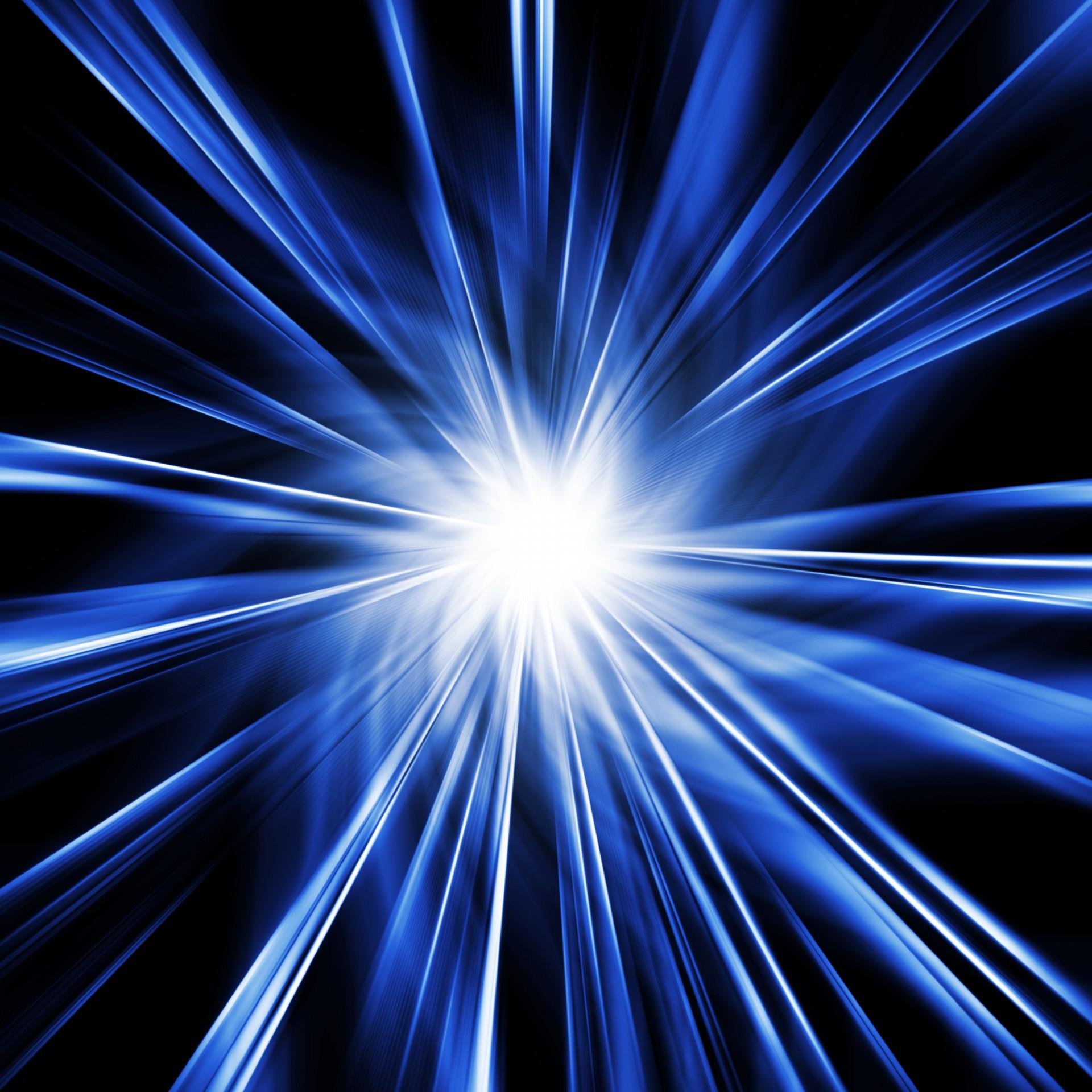 Blue Starburst Free Stock Photo - Public Domain Pictures