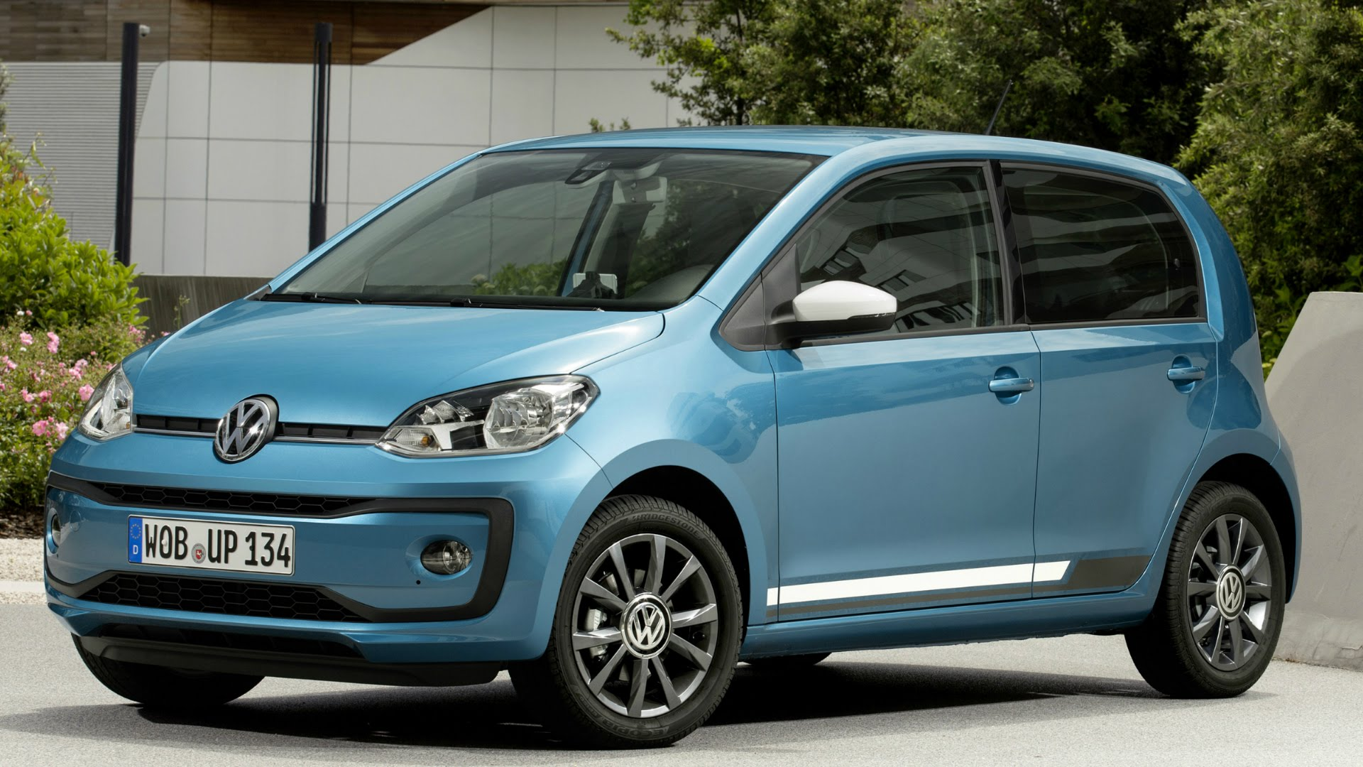 2016 Blue Volkswagen UP Interior, Exterior and Drive - YouTube