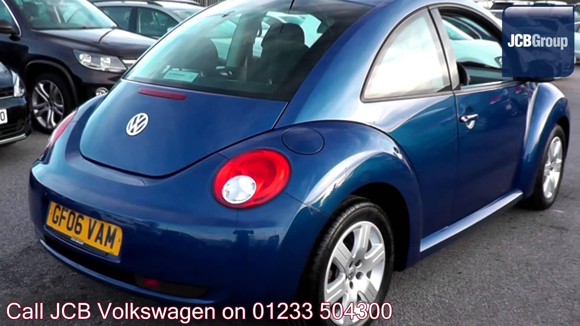 2006 Volkswagen Beetle Luna 1.4l Laser Blue Metallic GF06VAM for ...