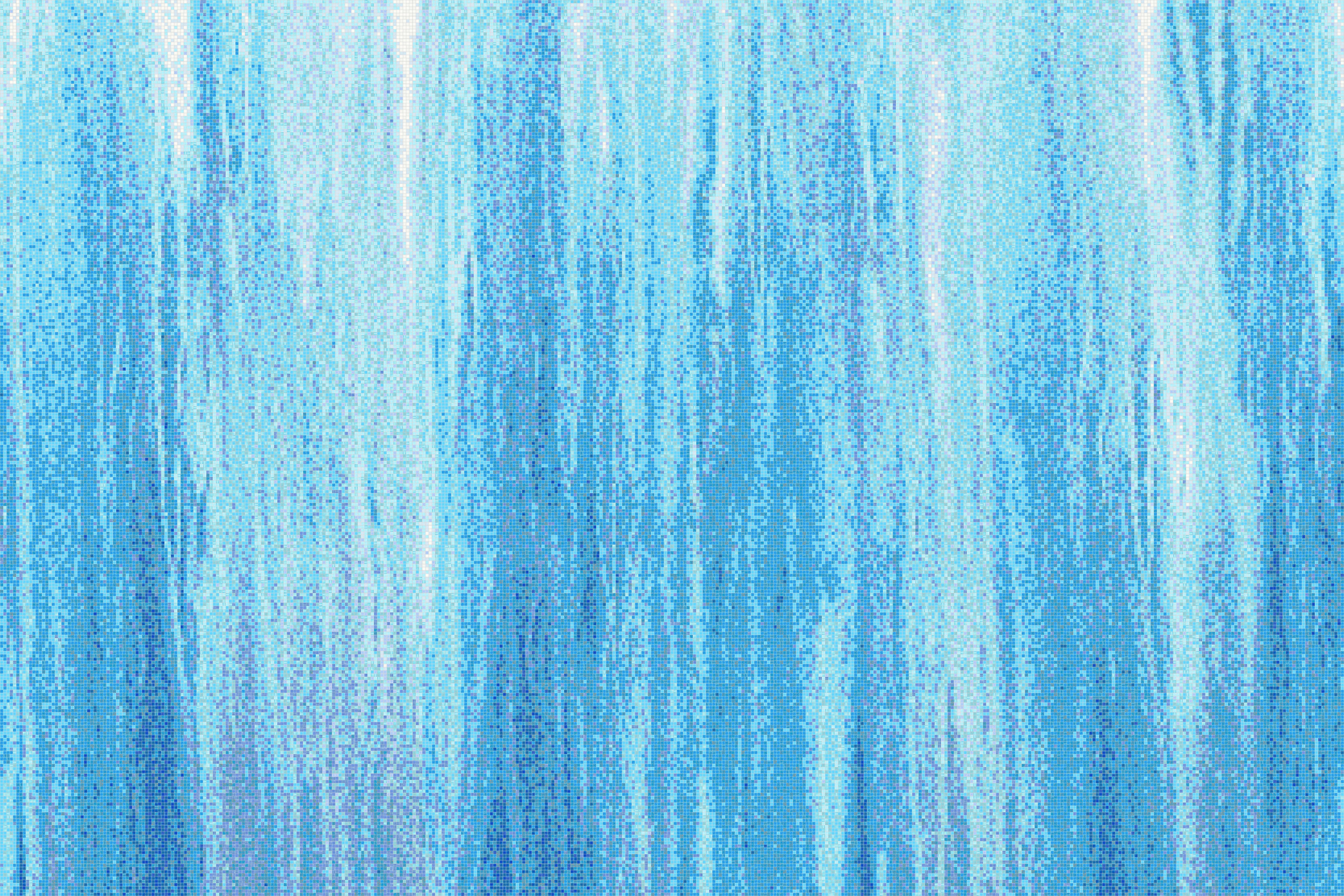 Blue water Tile Pattern   Waterlow Lake by ARTAIC