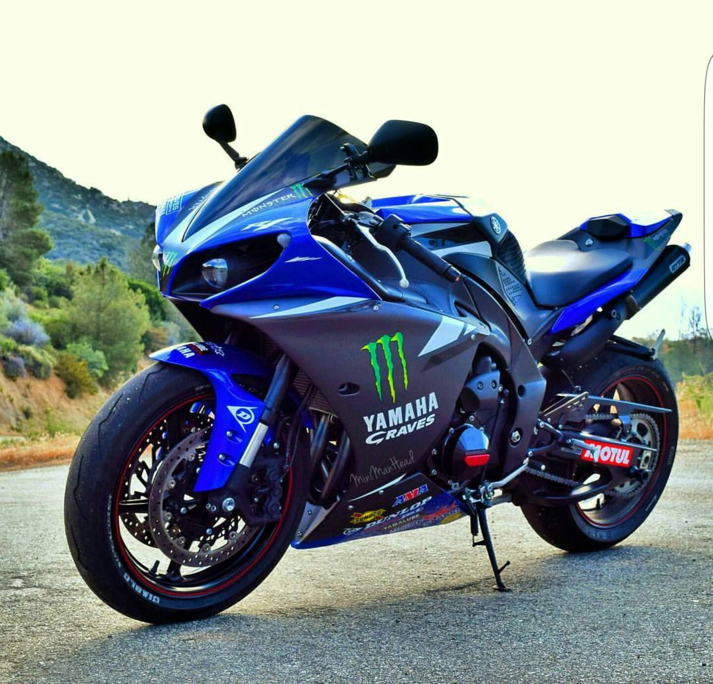 2013 Yamaha R1 Race Blue Graves   R1 My Dream   Pinterest   Yamaha r1