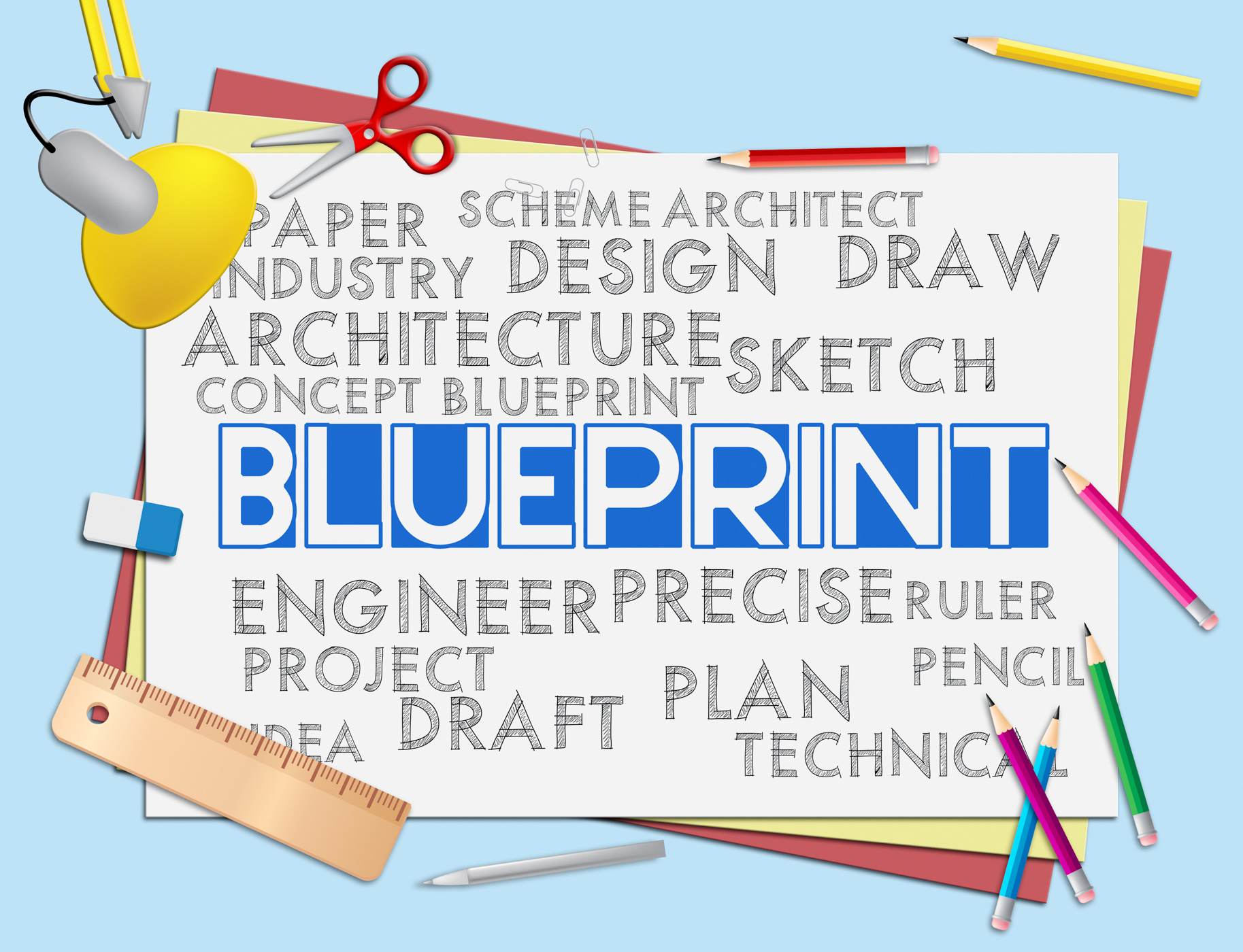 Free photo blueprint words means designer design and architectural blueprint words means designer design and architectural malvernweather Images