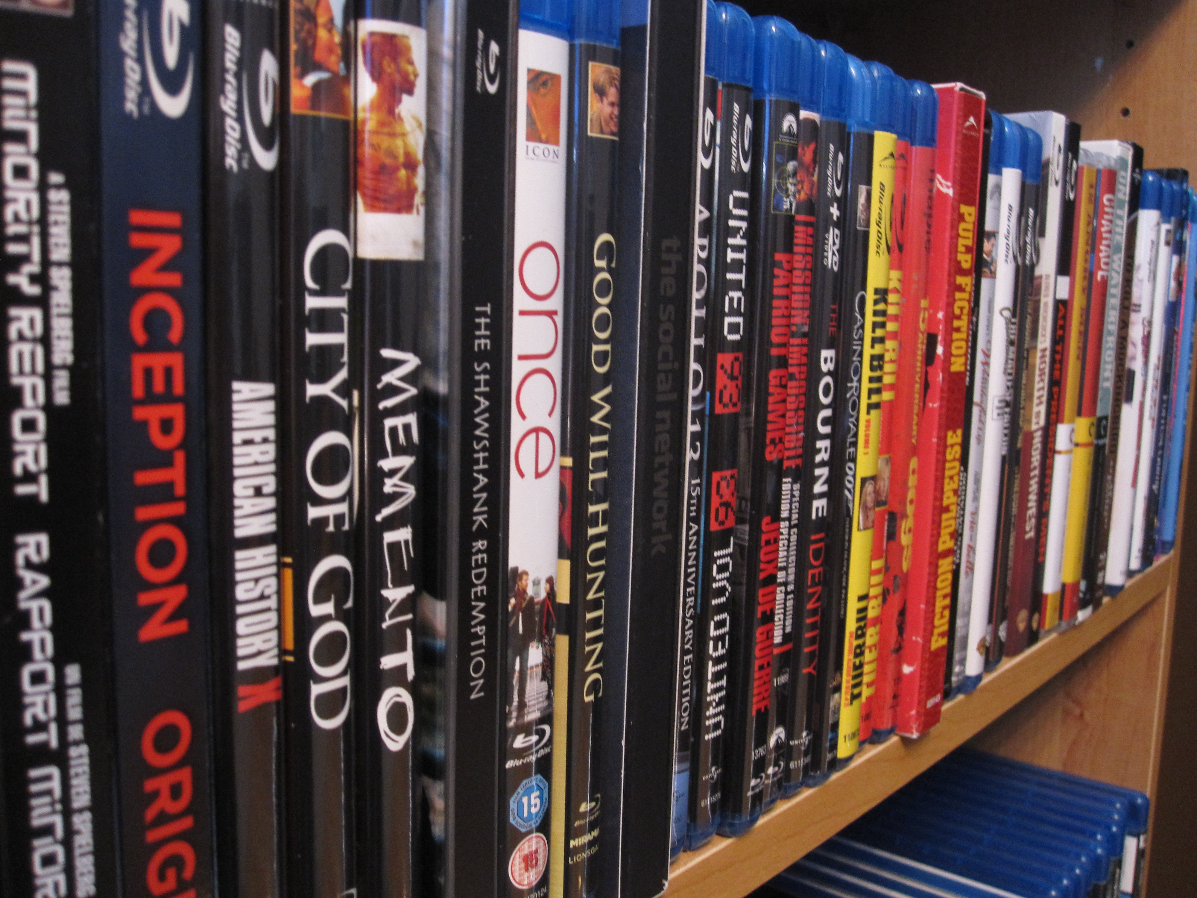 Confessions of a Blu-ray Collector: Organization | Ian's Movie Reviews