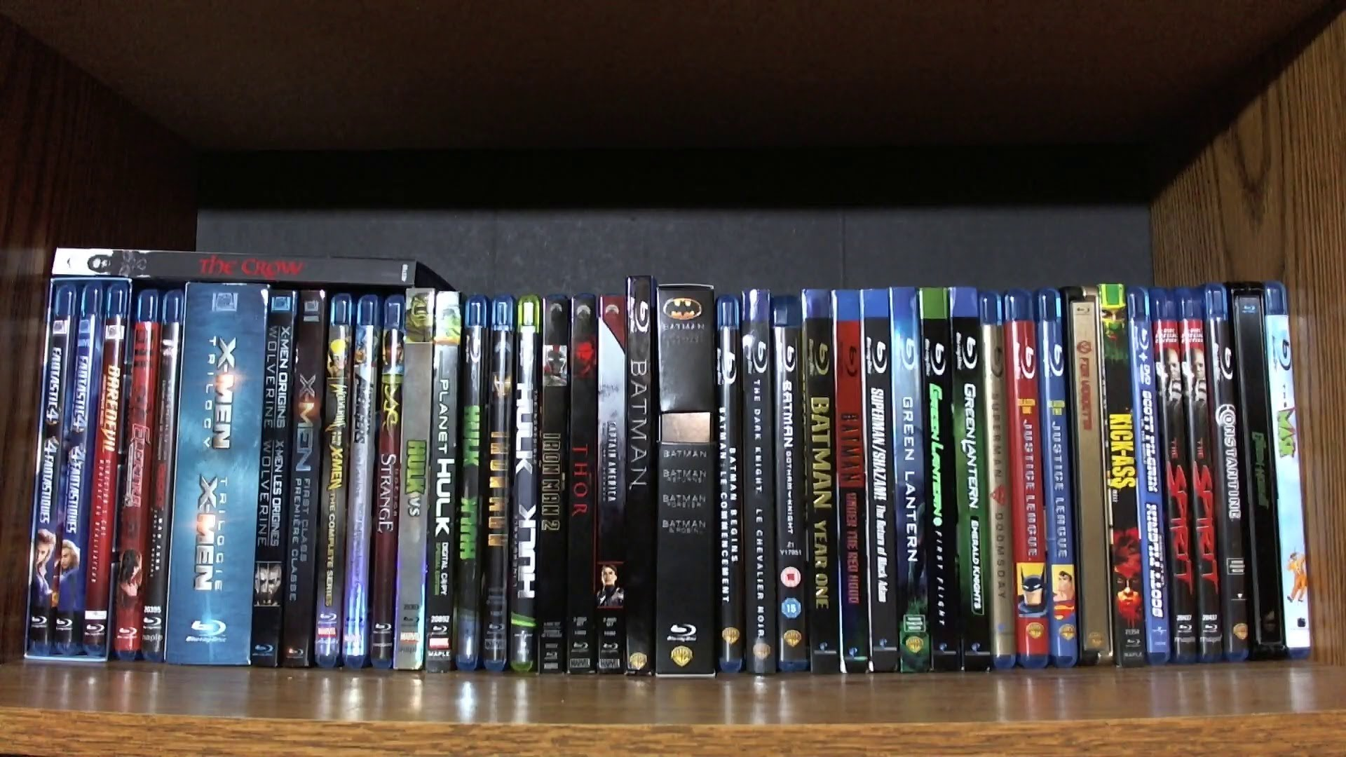 My Comic Book Adaptations on Blu-ray - DVD/Blu-ray Collection ...