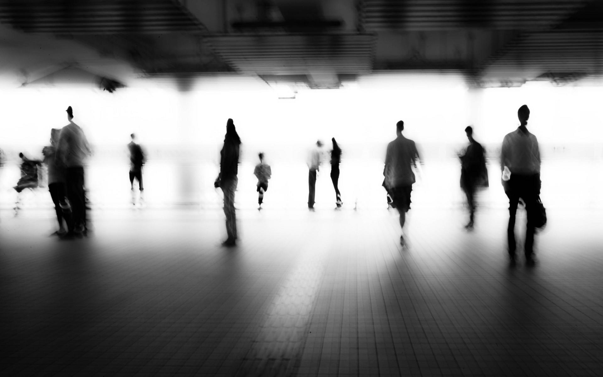 Blurred Person - WallDevil