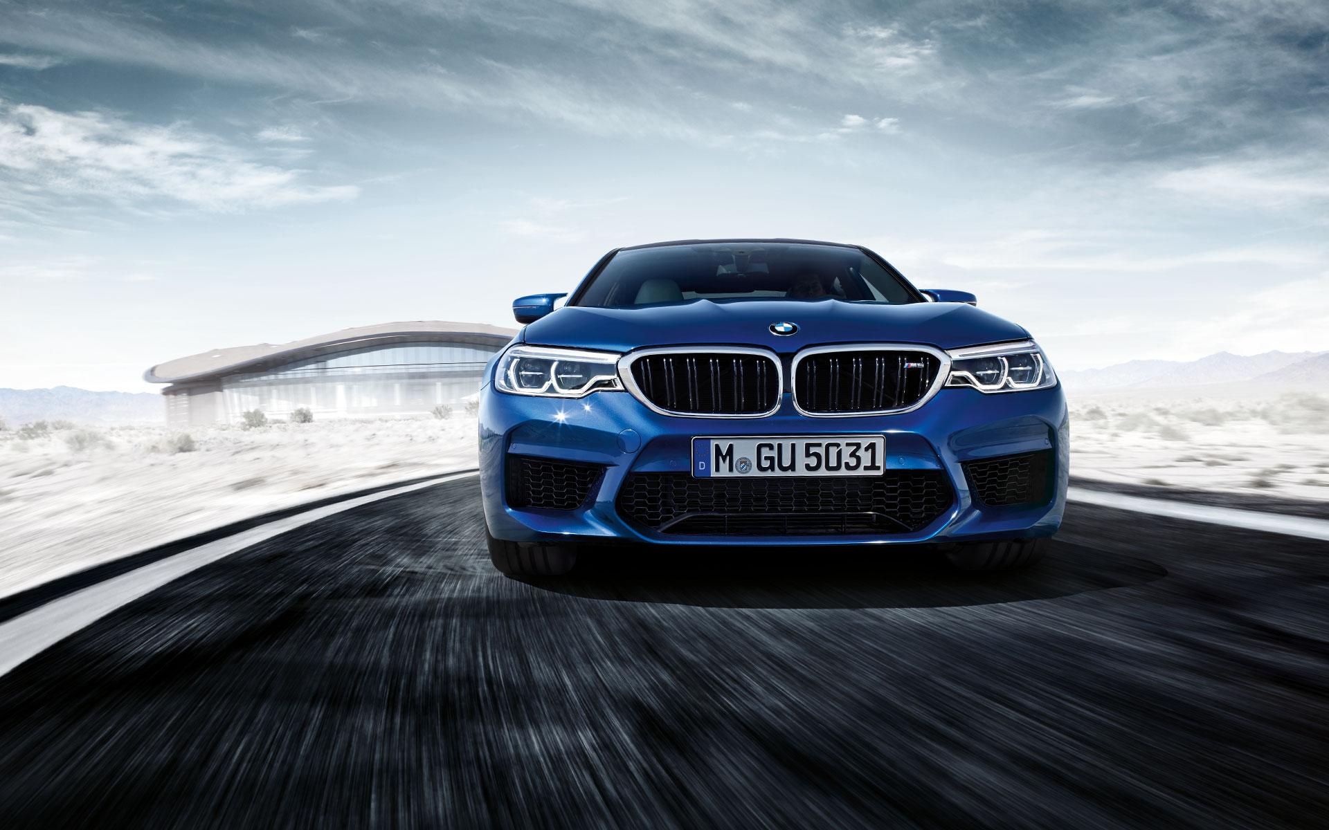 2019 BMW M5 Front blue color 4k hd wallpaper - Latest Cars 2018-2019