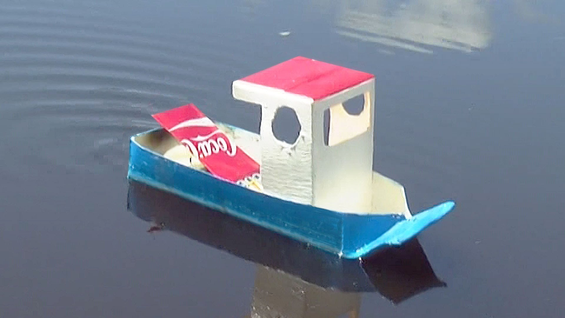 How to Make a Simple Pop Pop Boat - YouTube