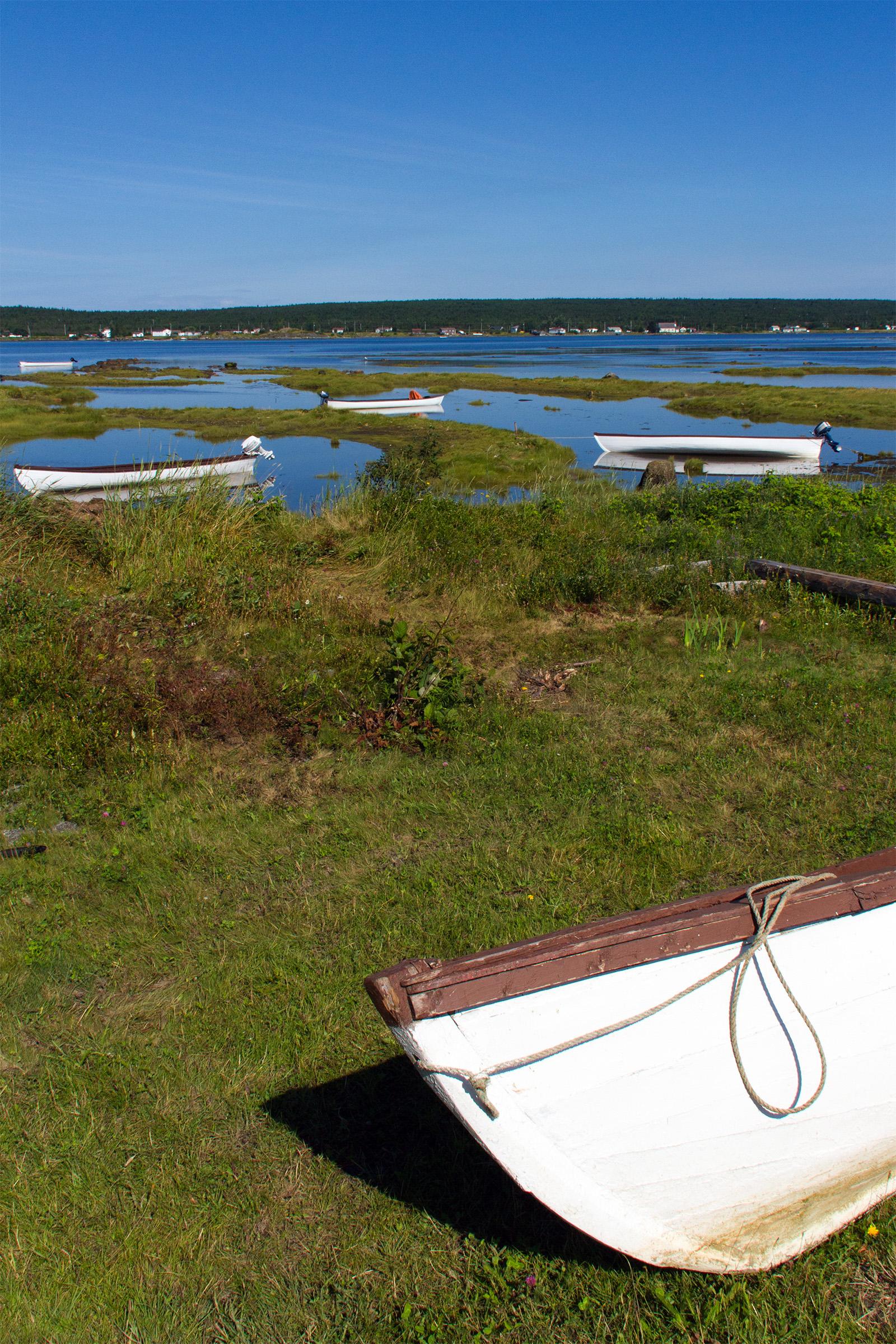 Boat, Air, Space, River, Rural, HQ Photo