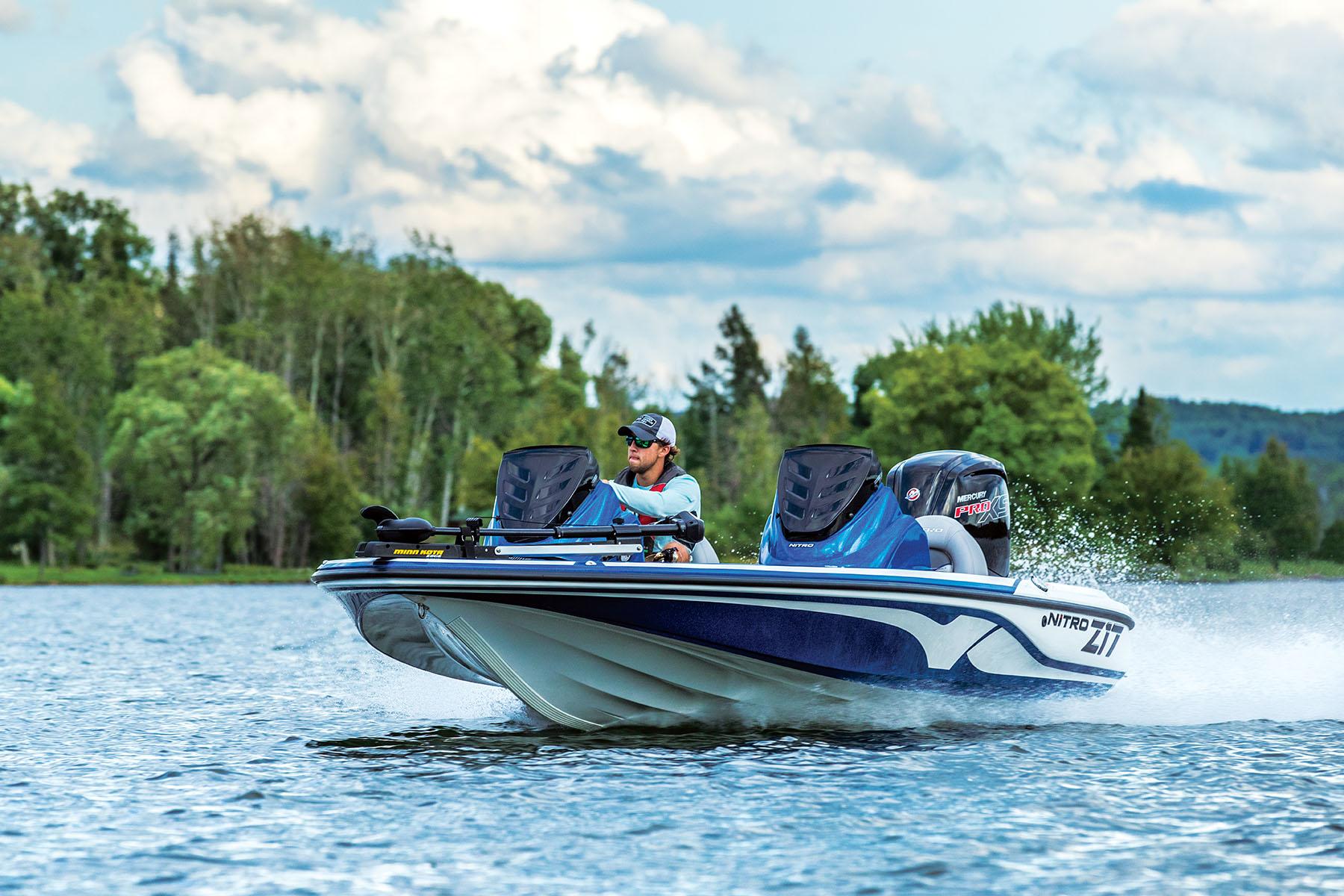2018 NITRO® Z17 Bass Boat