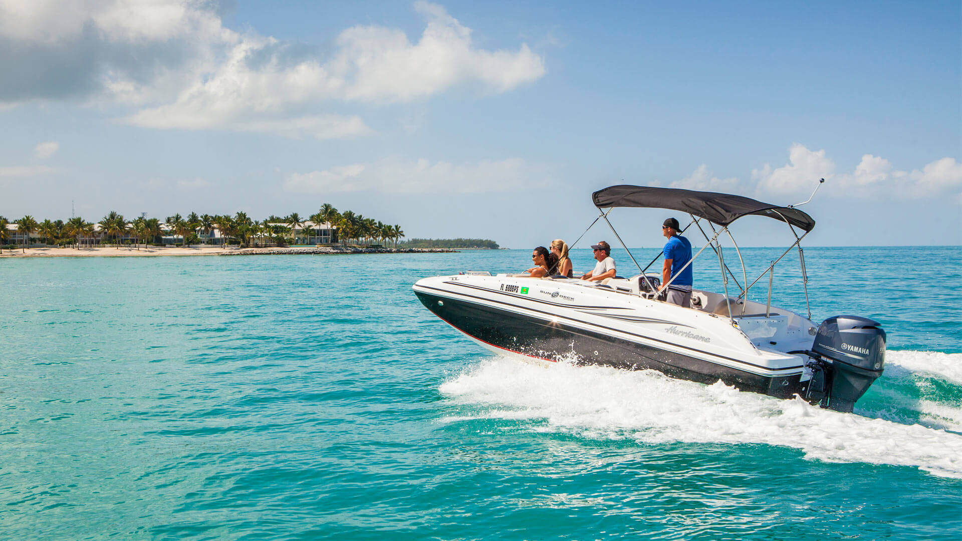 Key West Boat Rentals by Fury Water Adventures