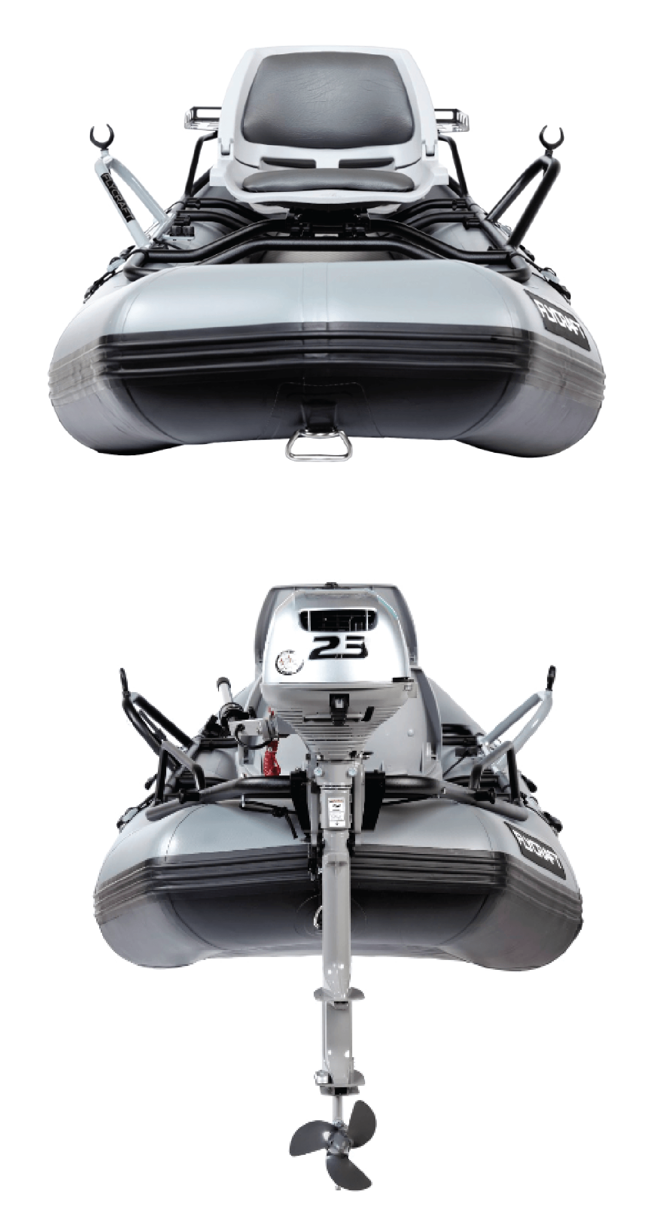 Drift Boat + Inflatable Fishing Boat = Stealth Boat | FLYCRAFT USA