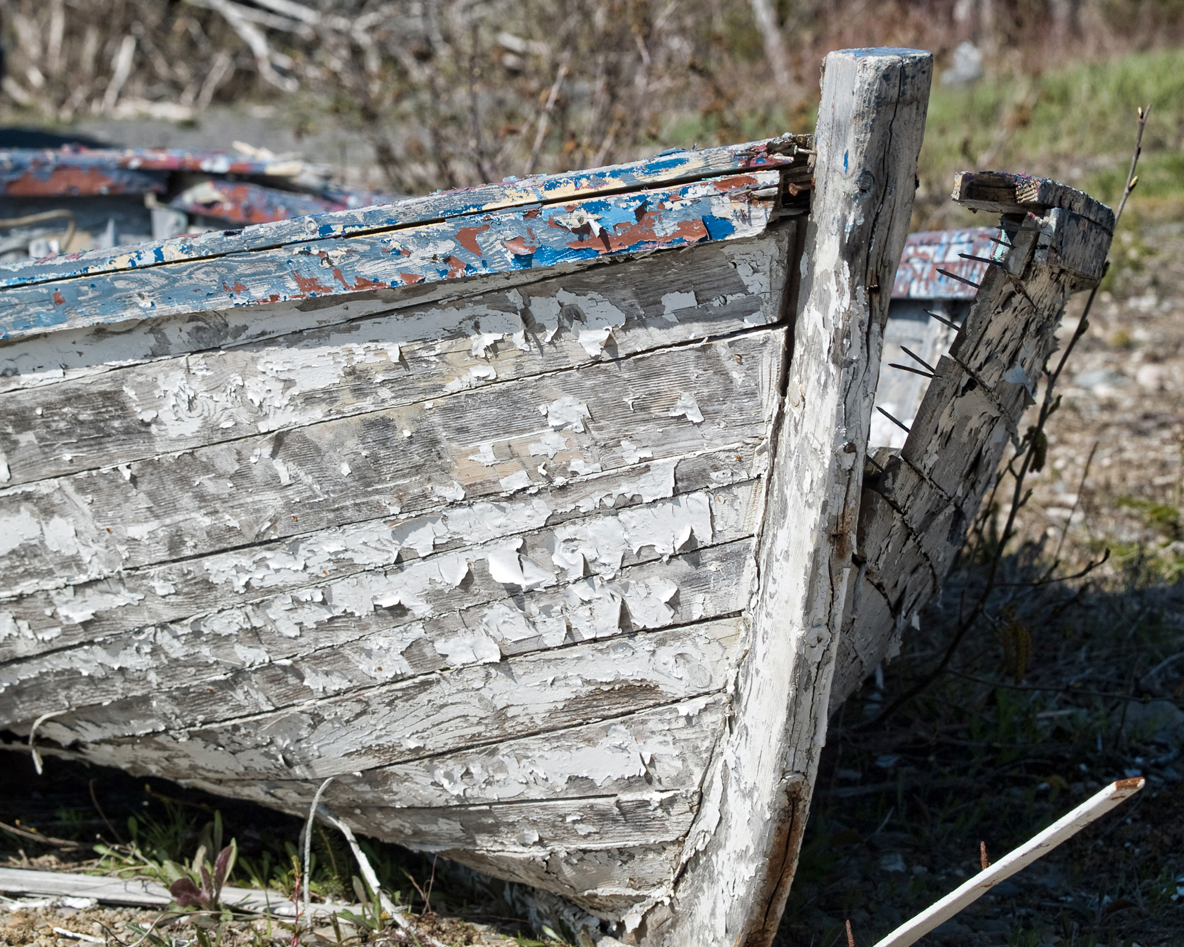 Boat, Abandoned, Travel, Sea, Seaside, HQ Photo