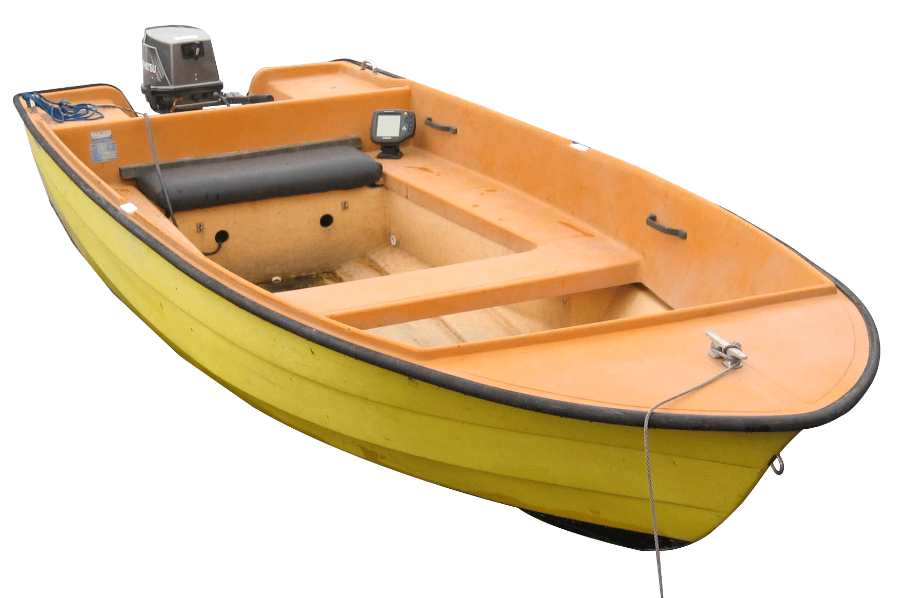 Small Fishing Boat transparent PNG - StickPNG