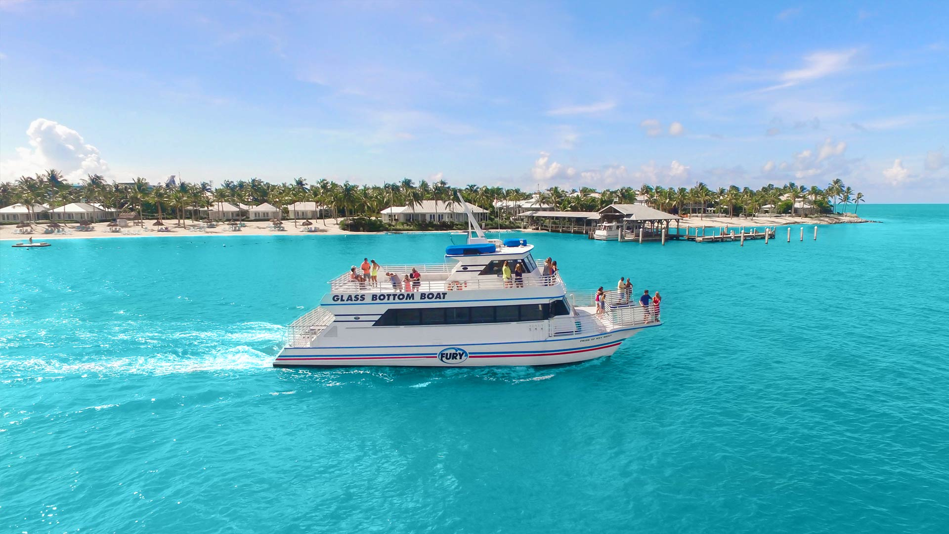 Key West Glass Bottom Boat Tours | Fury Water Adventures
