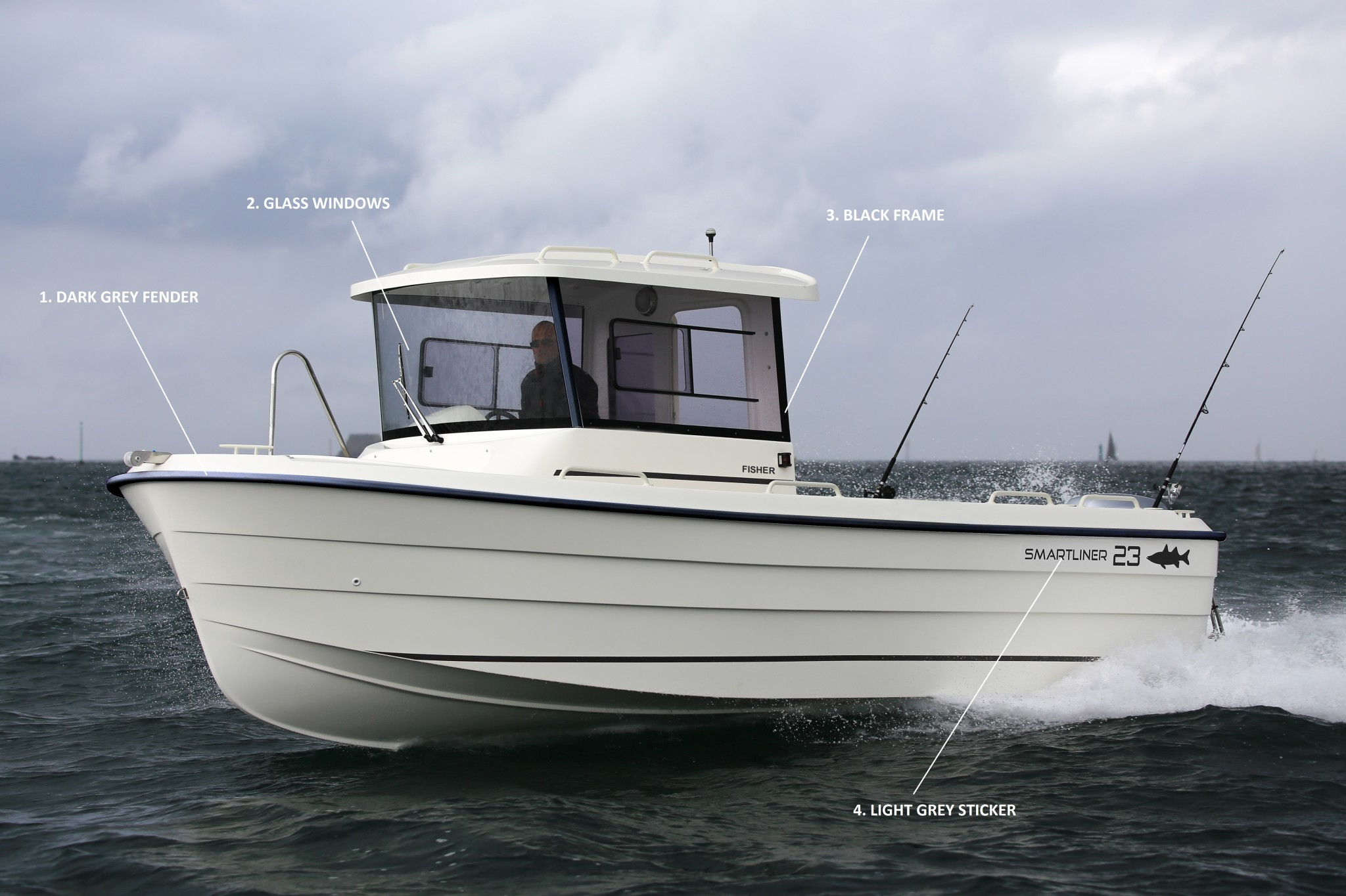 Smartliner, designer and builder of fiberglass et aluminium boats