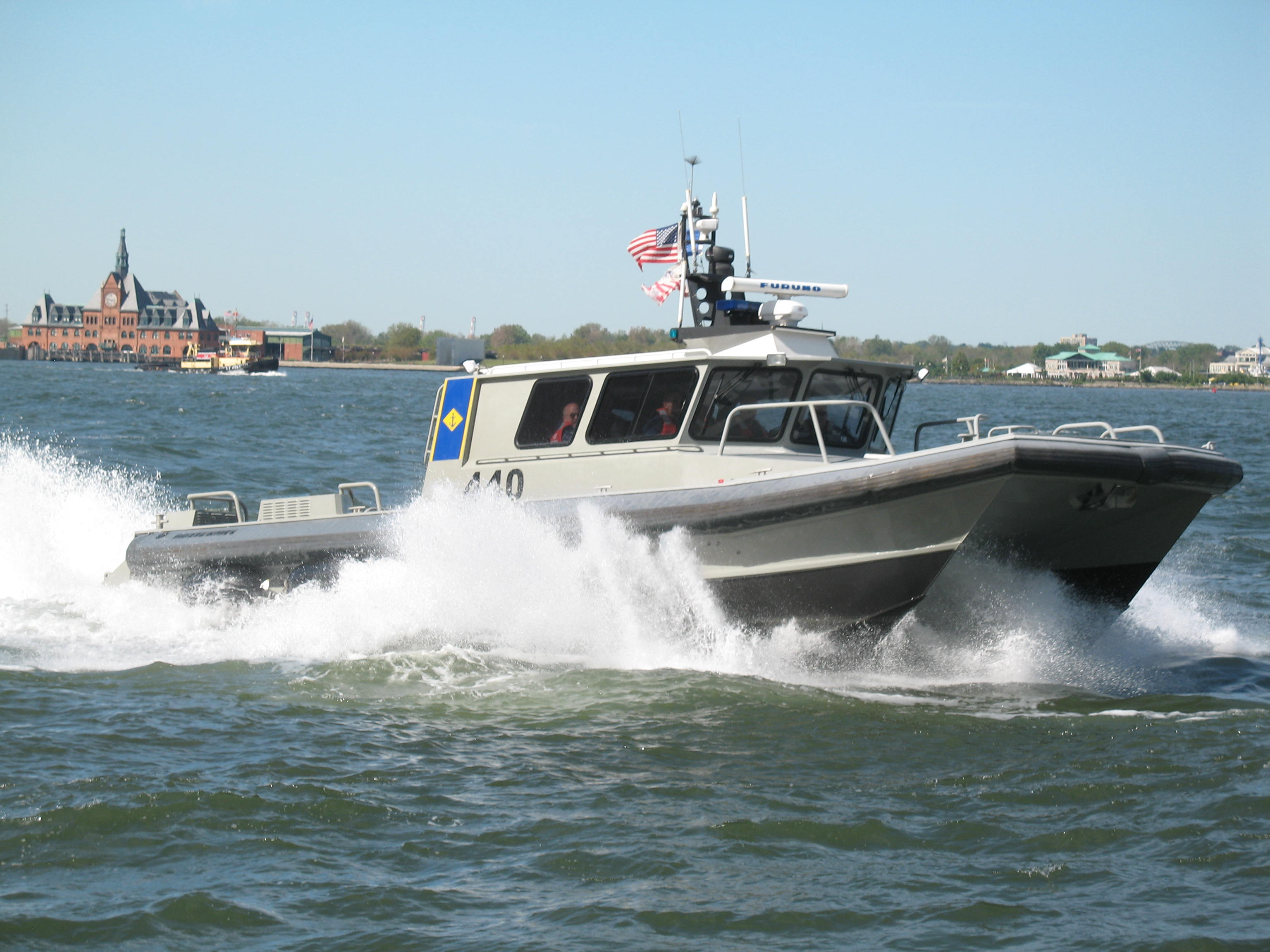 New York Naval Militia Military Emergency Boat Service