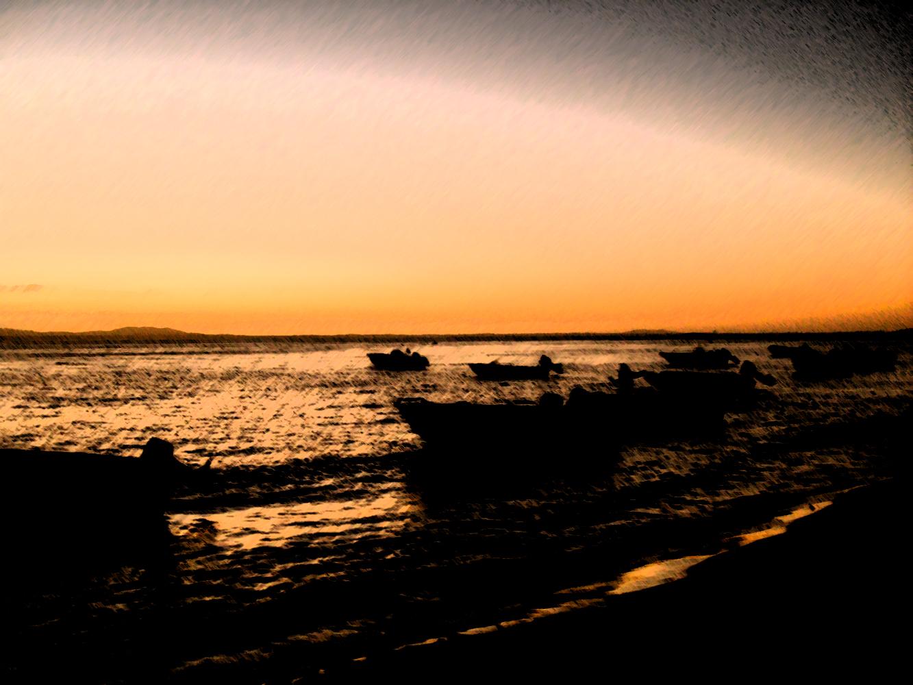 Boat Art, Art, Beach, Boats, Dusk, HQ Photo