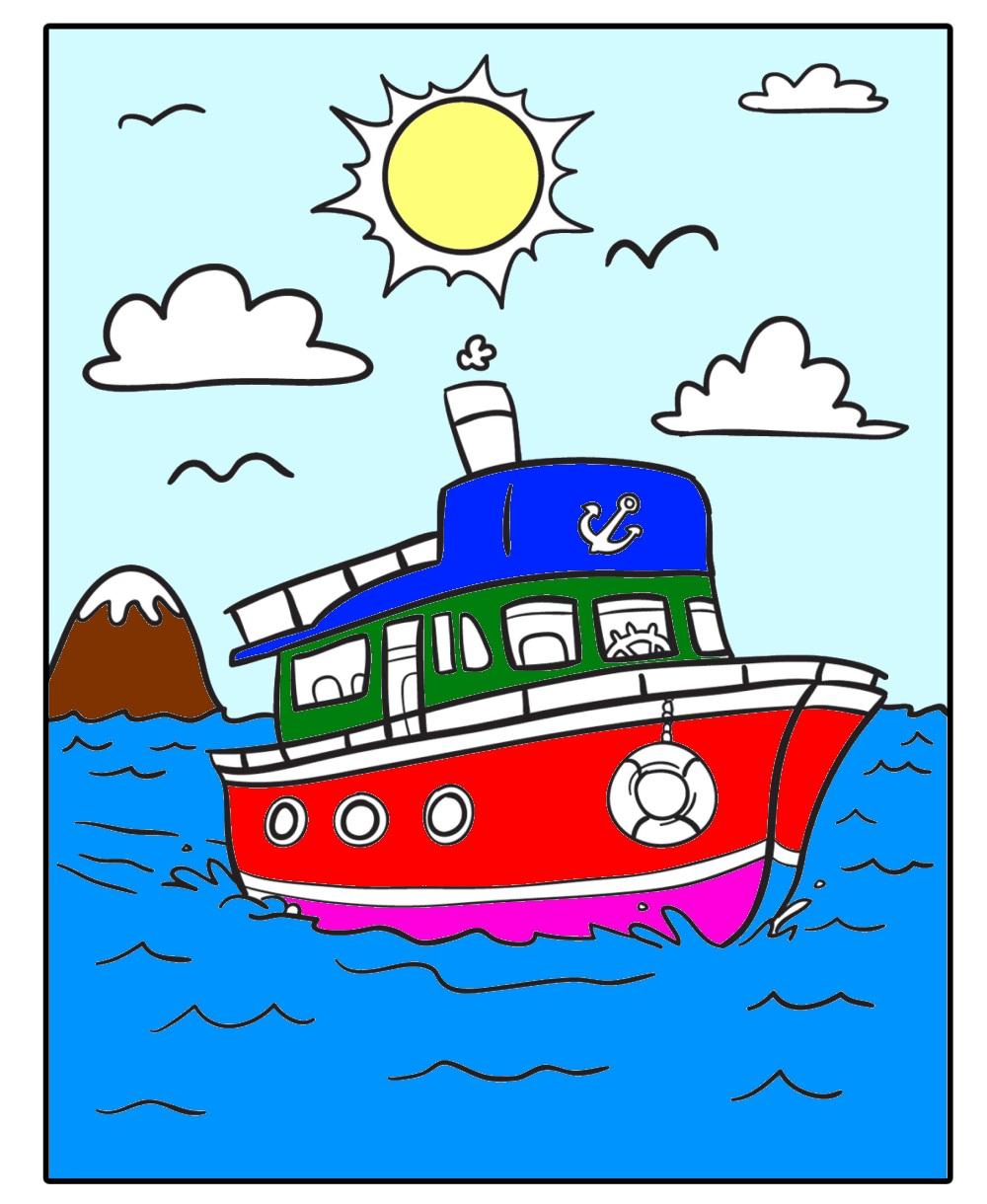 Boat clipart, Boat, Cartoon, Clipart, Graphic, HQ Photo