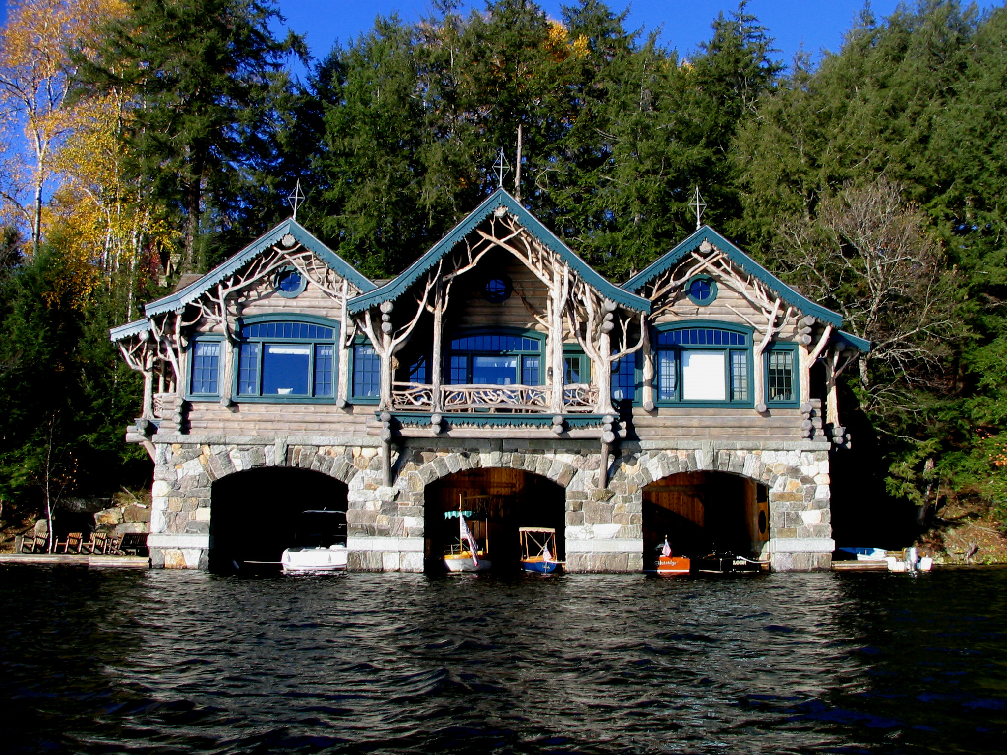 Boat house photo