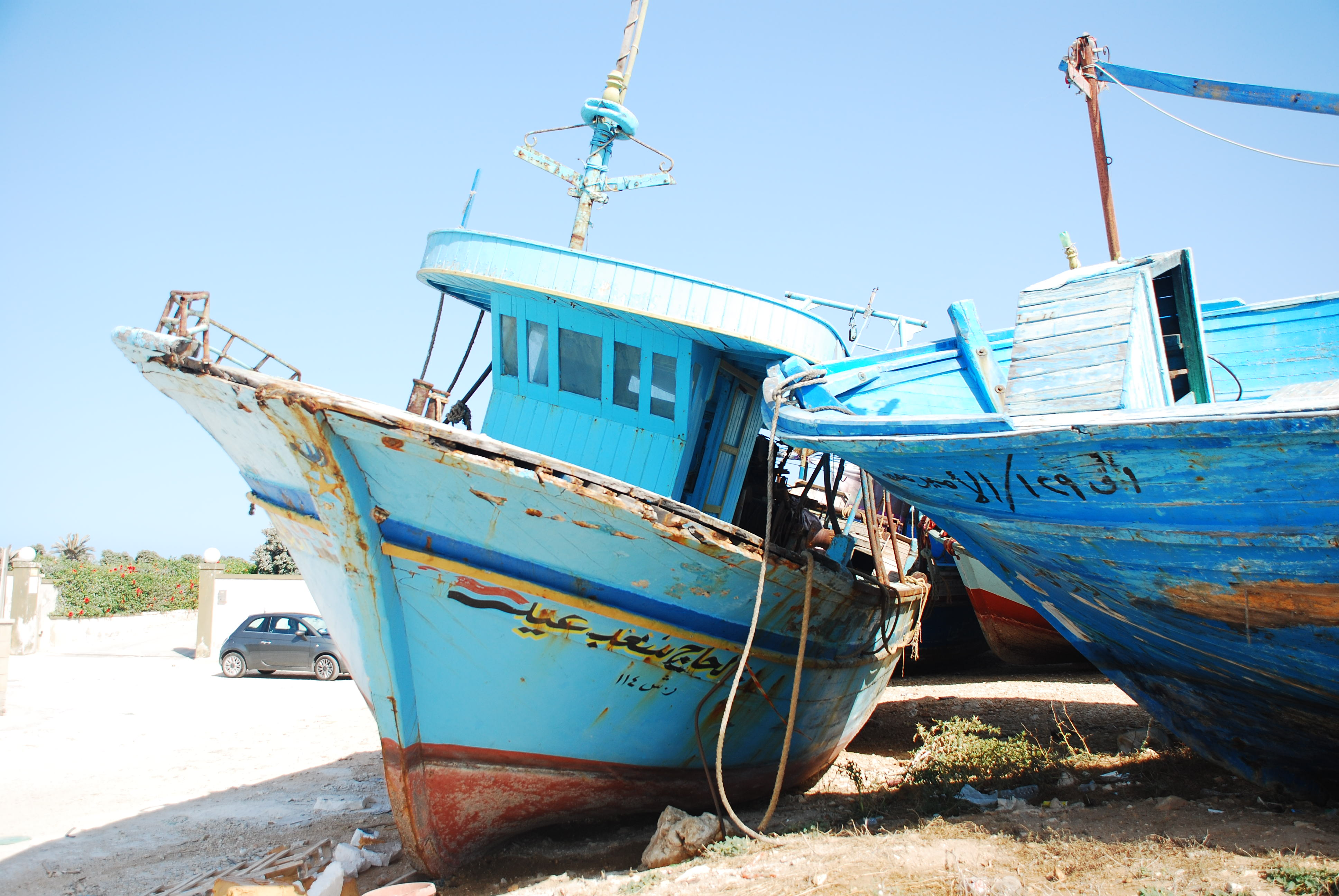 Sicily's Refugees' Boats Graveyard – Stanito
