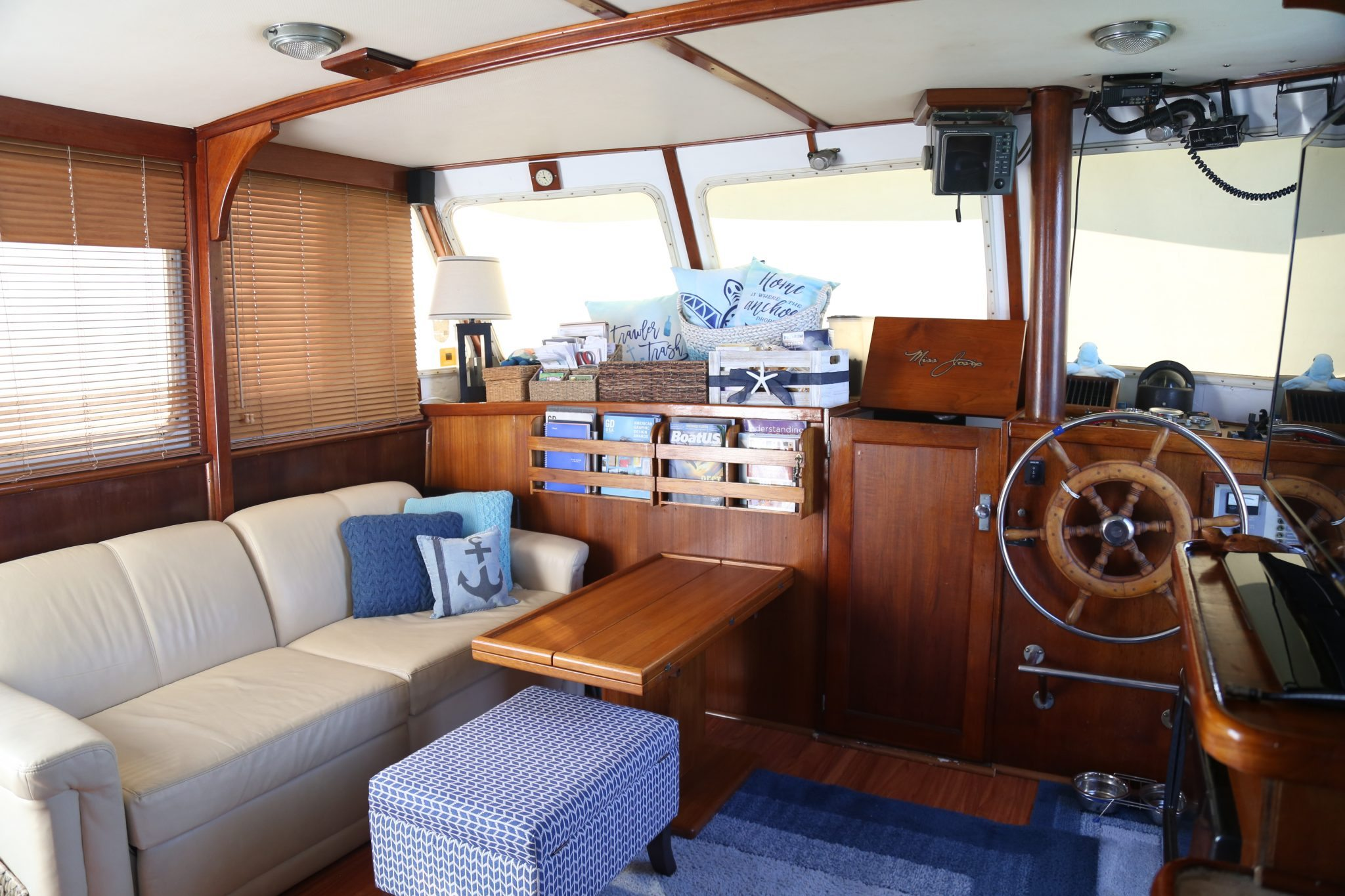 boat interiors Archives | Blue Turtle Trawler