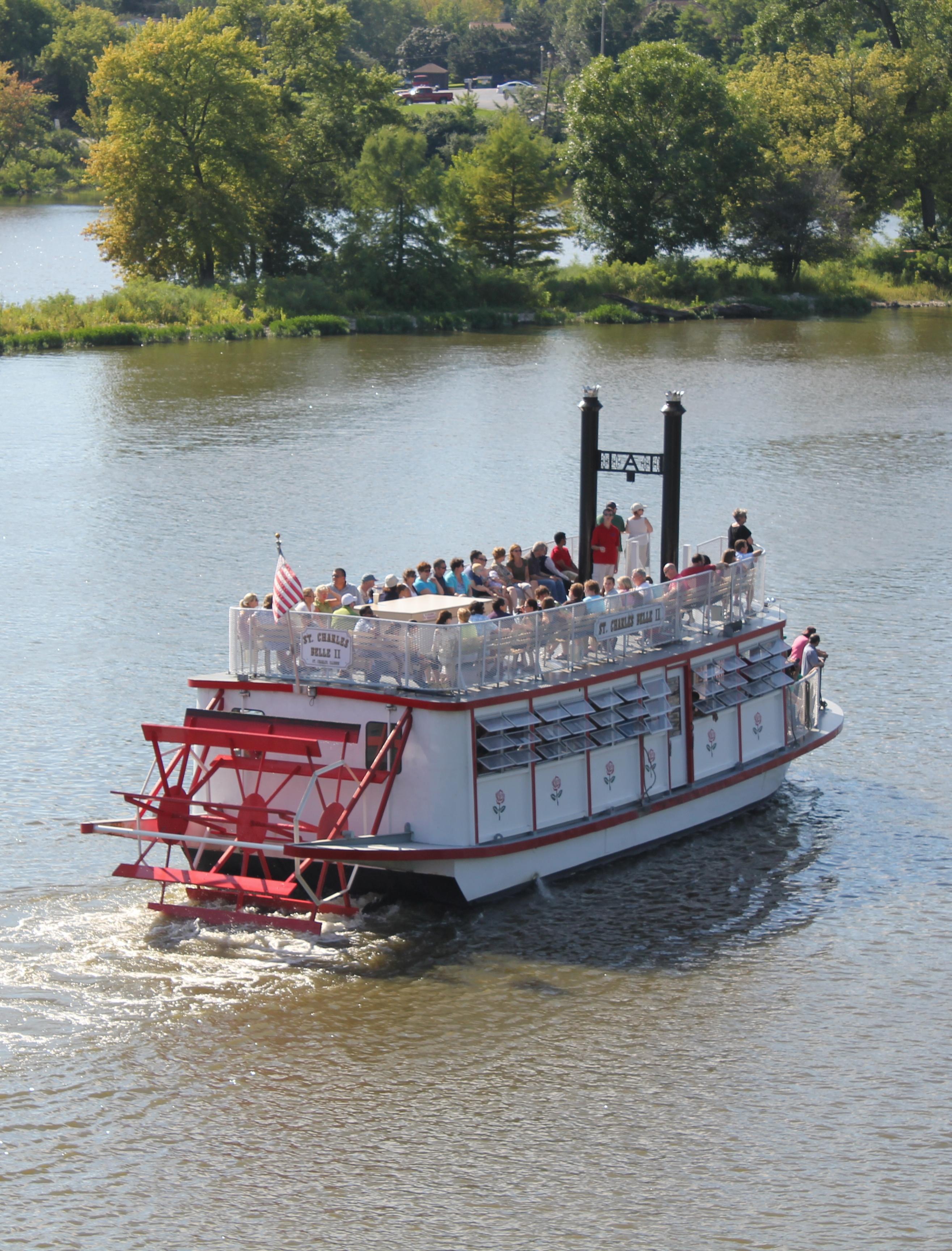 Public Sightseeing Cruises – St. Charles Paddlewheel Riverboats