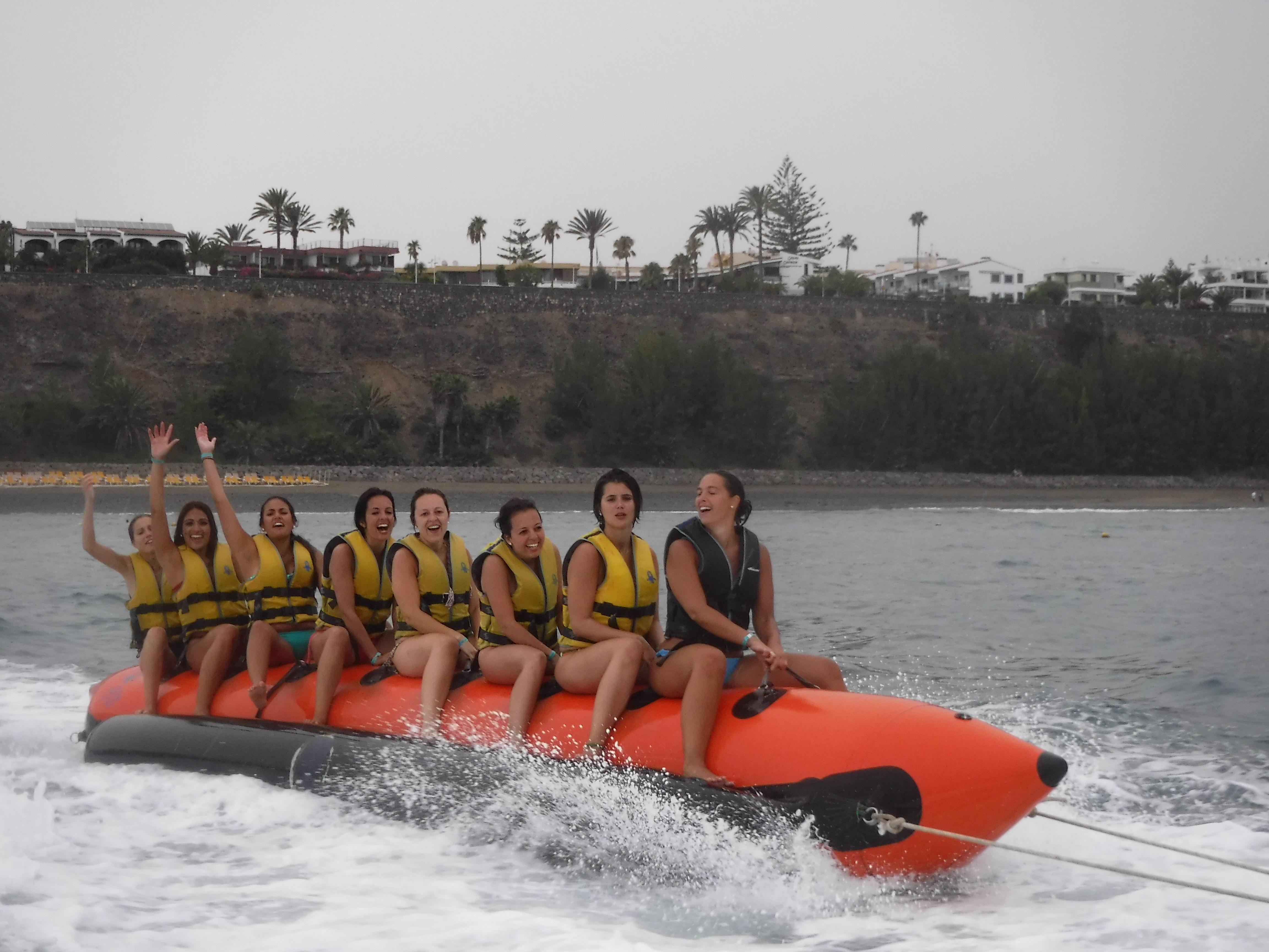 Banana Boat Ride in Playa del Ingles - Watersports in Playa del Ingles